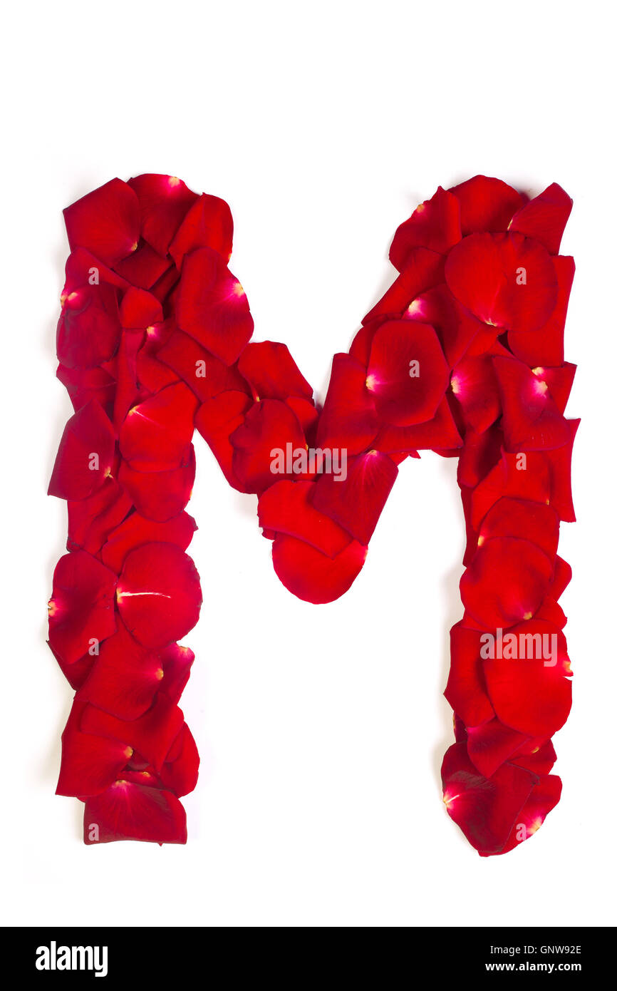 M Letter High Resolution Stock Photography And Images Alamy