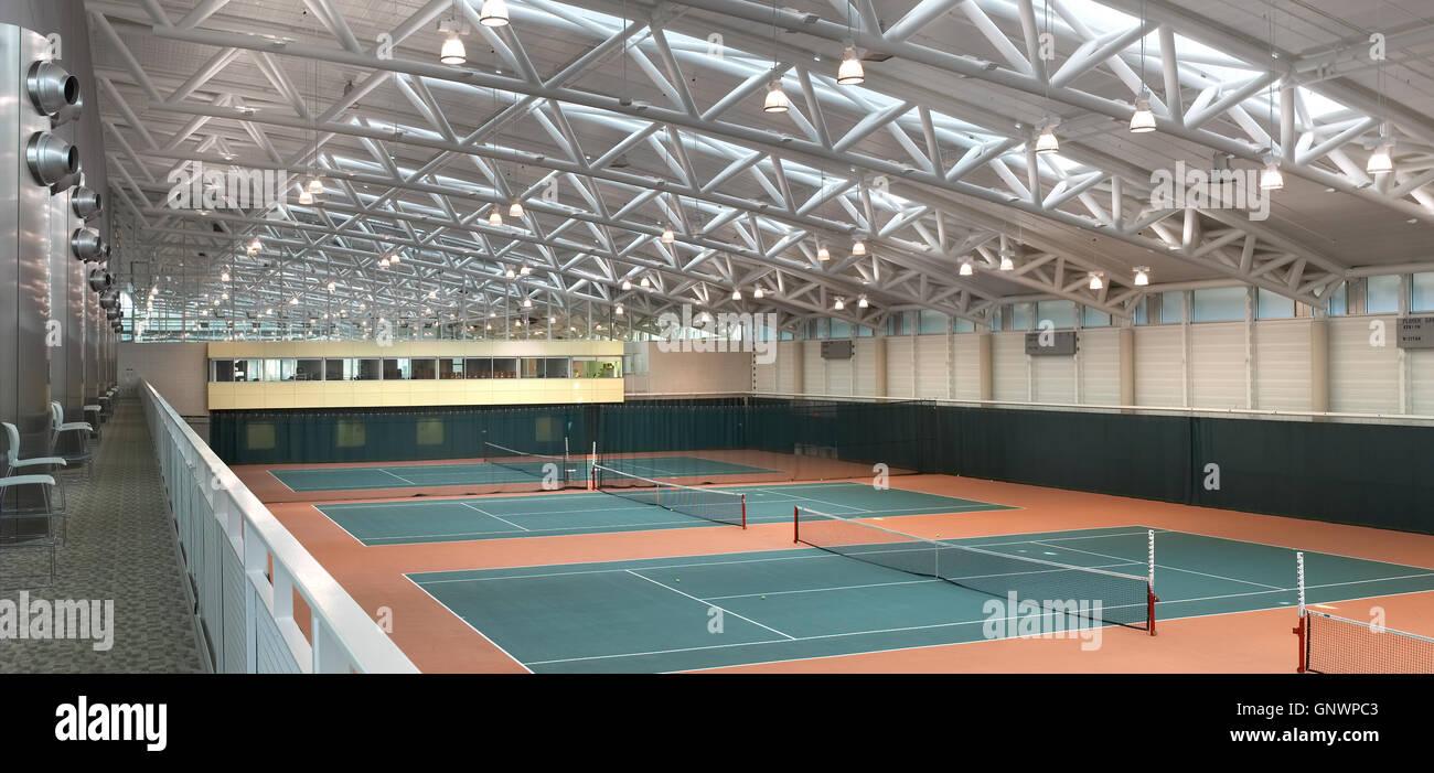 Indoor Tennis Courts Stock Photos Amp Indoor Tennis Courts