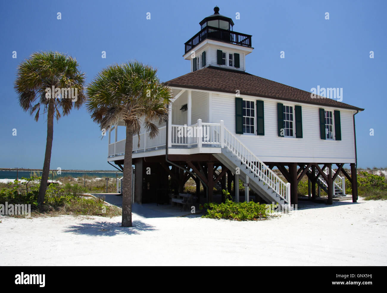 Gasparilla Island State Park on the Florida Gulf Coast Stock Photo