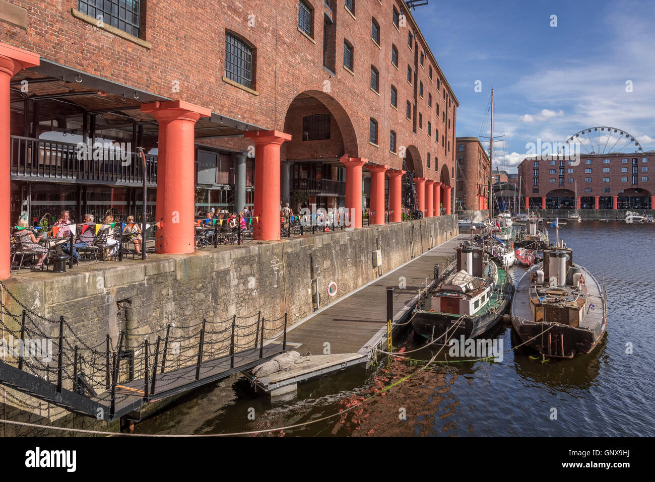 Merseyside Maritime Museum at the Albert Dock. Liverpool - Stock Image