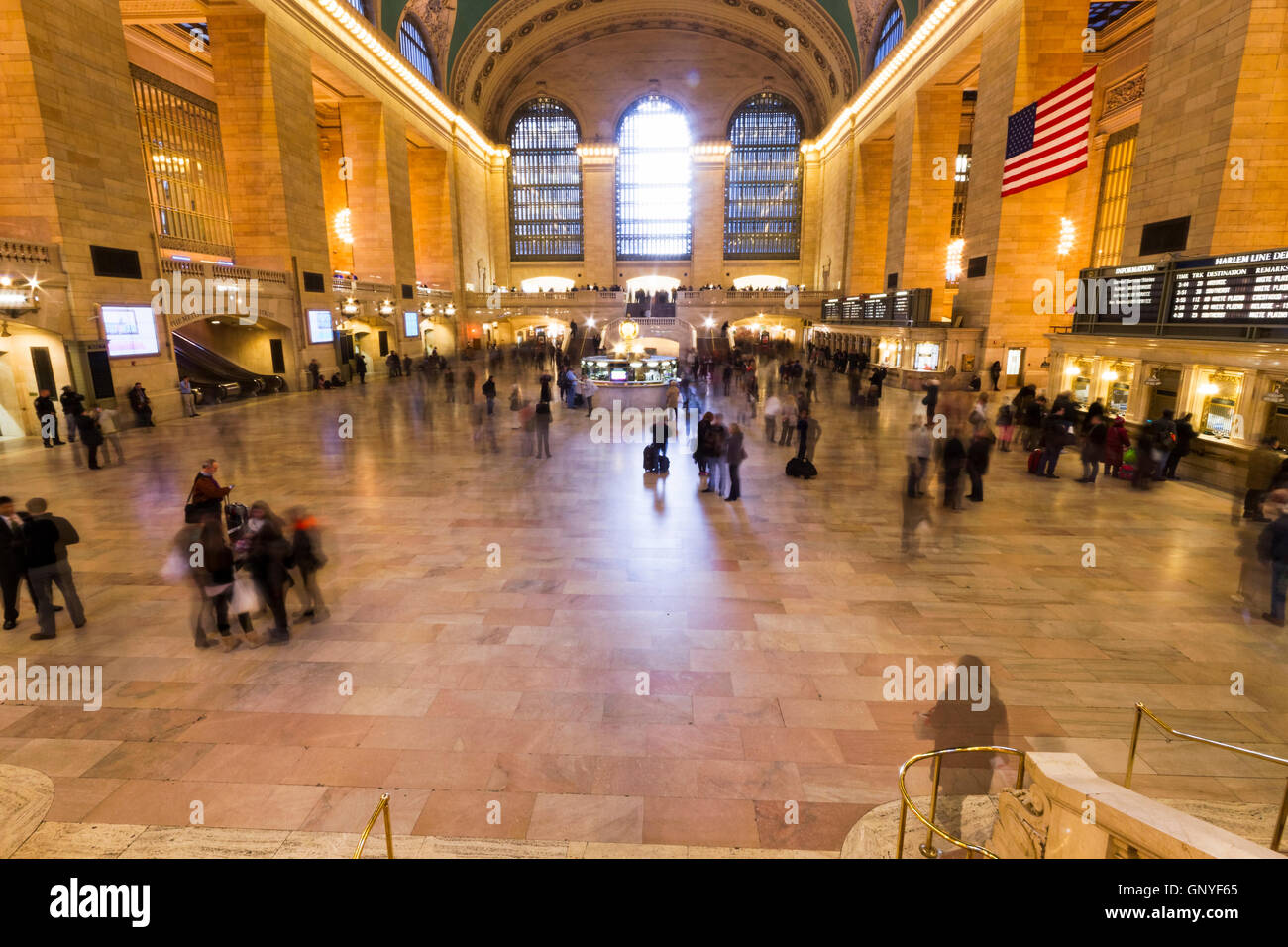 NEW YORK CITY, USA - NOVEMBER 16, 2012: Views of the historic Grand ...