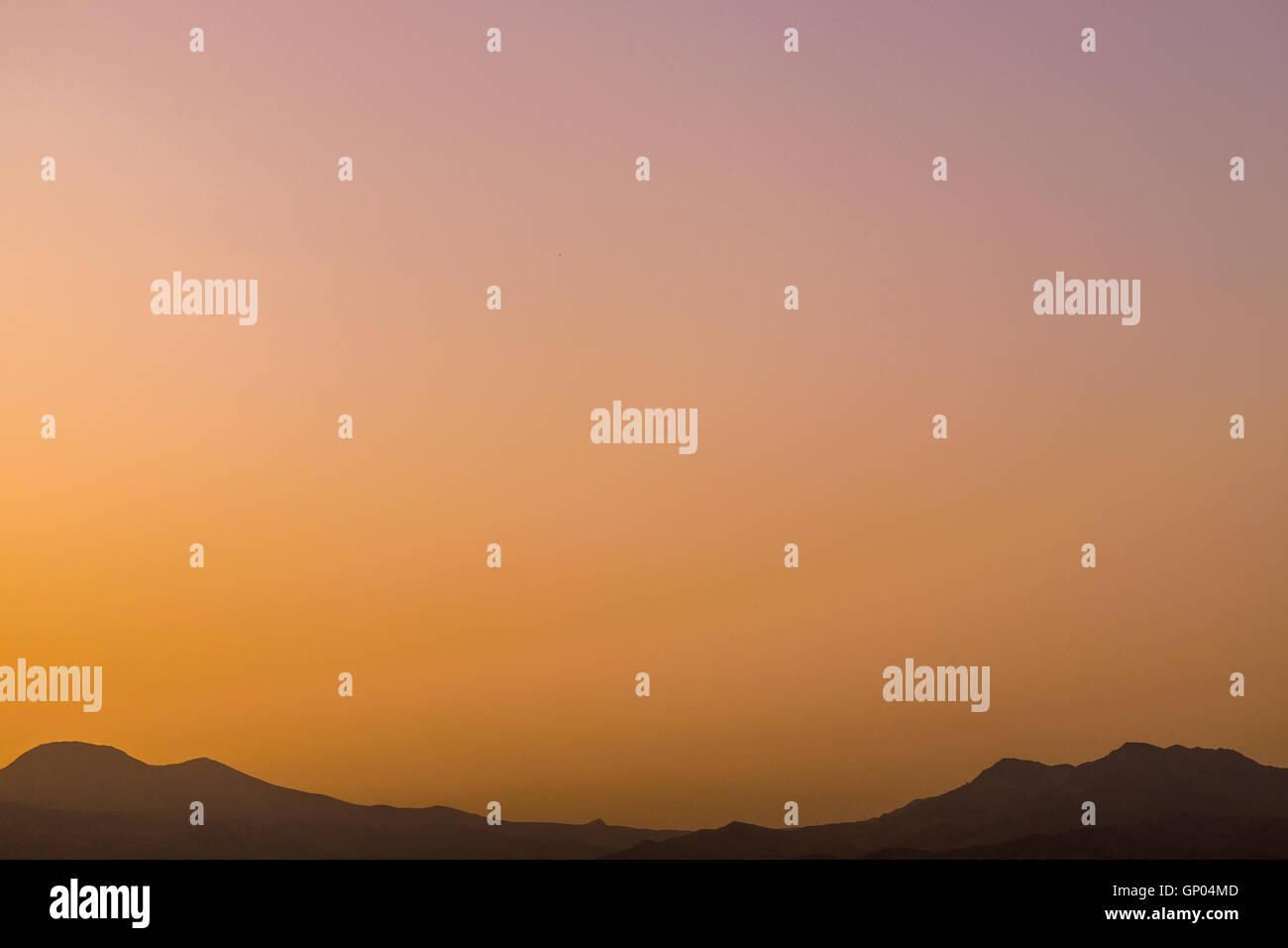 beautiful sun rise - Stock Image
