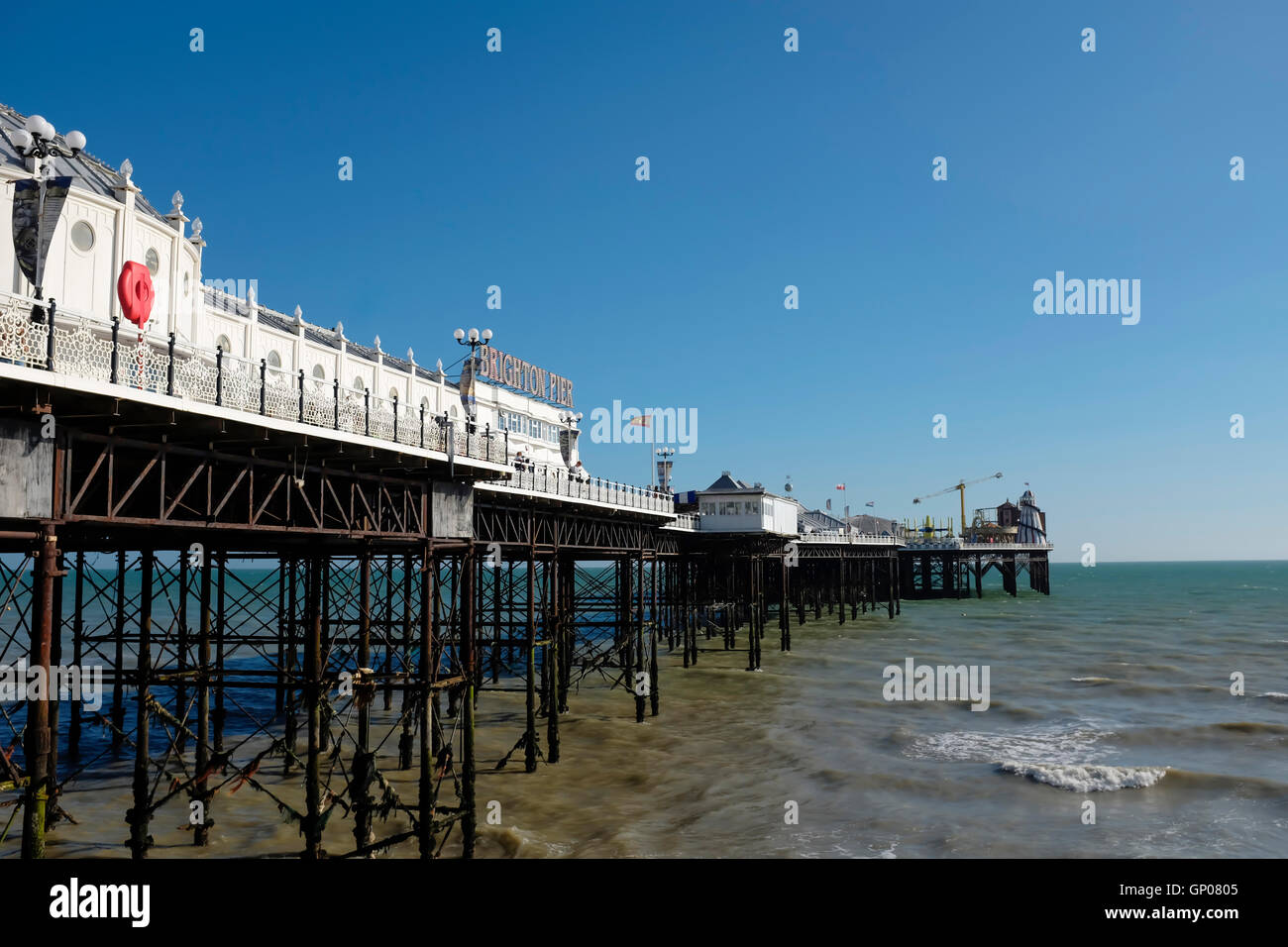 Brighton Pier, Bighton Beach, Sussex,United Kingdom Stock Photo