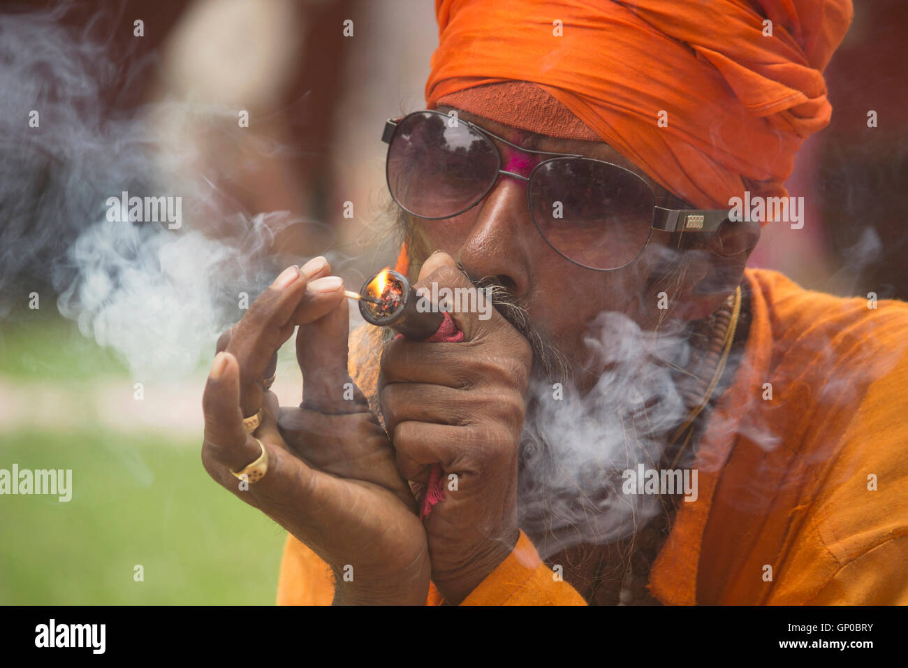 Smoking Chillum High Resolution Stock Photography And Images Alamy