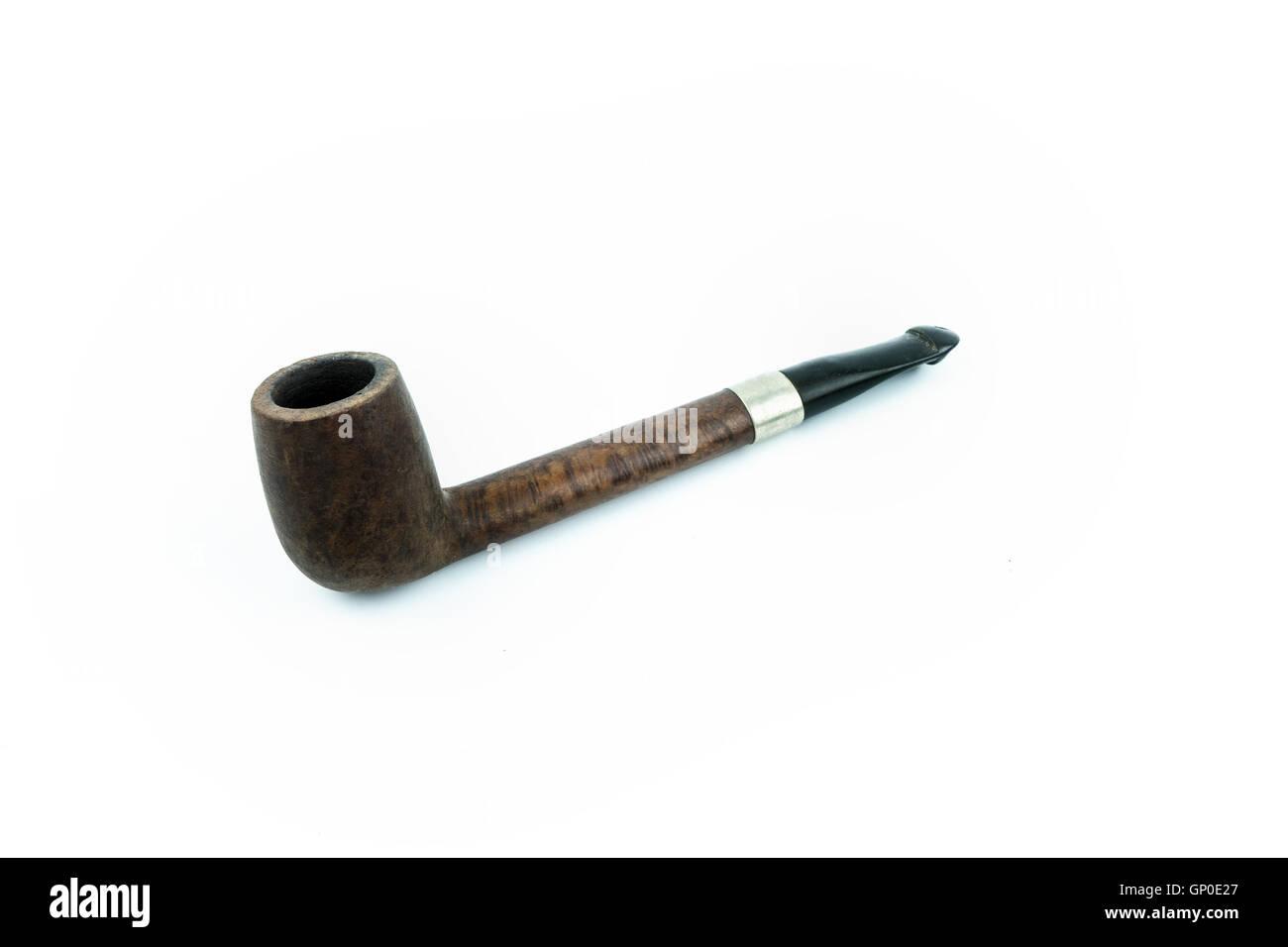 Smoke pipe isolated. - Stock Image