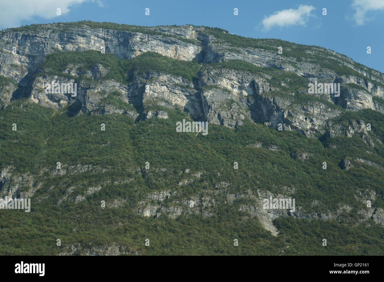 Alpen in Italien – Alps in Italy for vacation - Stock Image