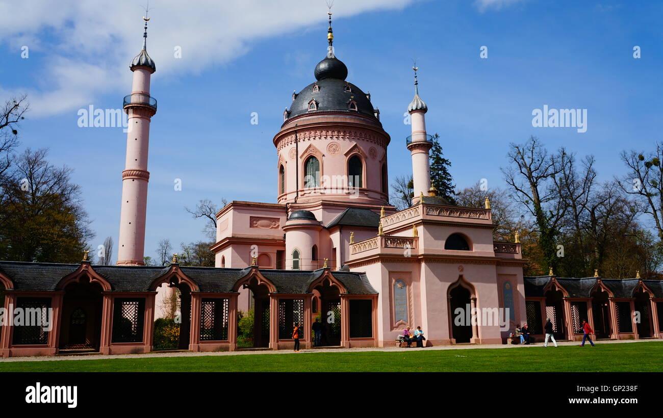 Schloss Schwetzingen, Touristenziel in Deutschland – Palace Schwetzingen in Germany - Stock Image