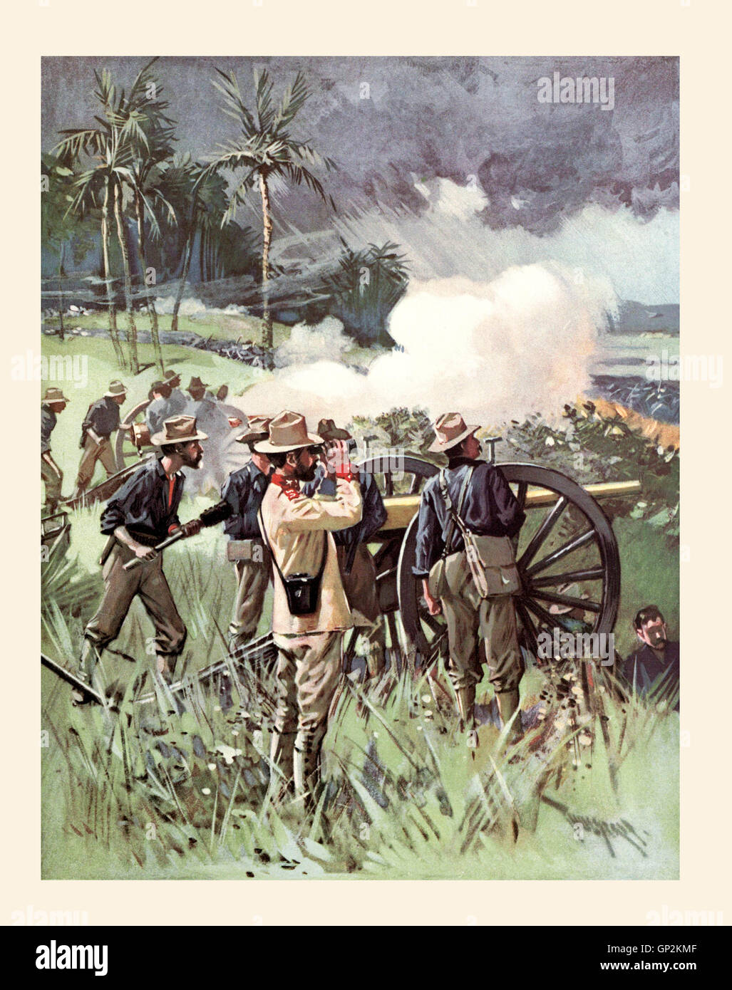 the spanish american war in 1898 The war of 1898, better known as the spanish-american war, was caused by a variety of factors they can be boiled down, however, to two main factors and a catalyst the first factor was an.