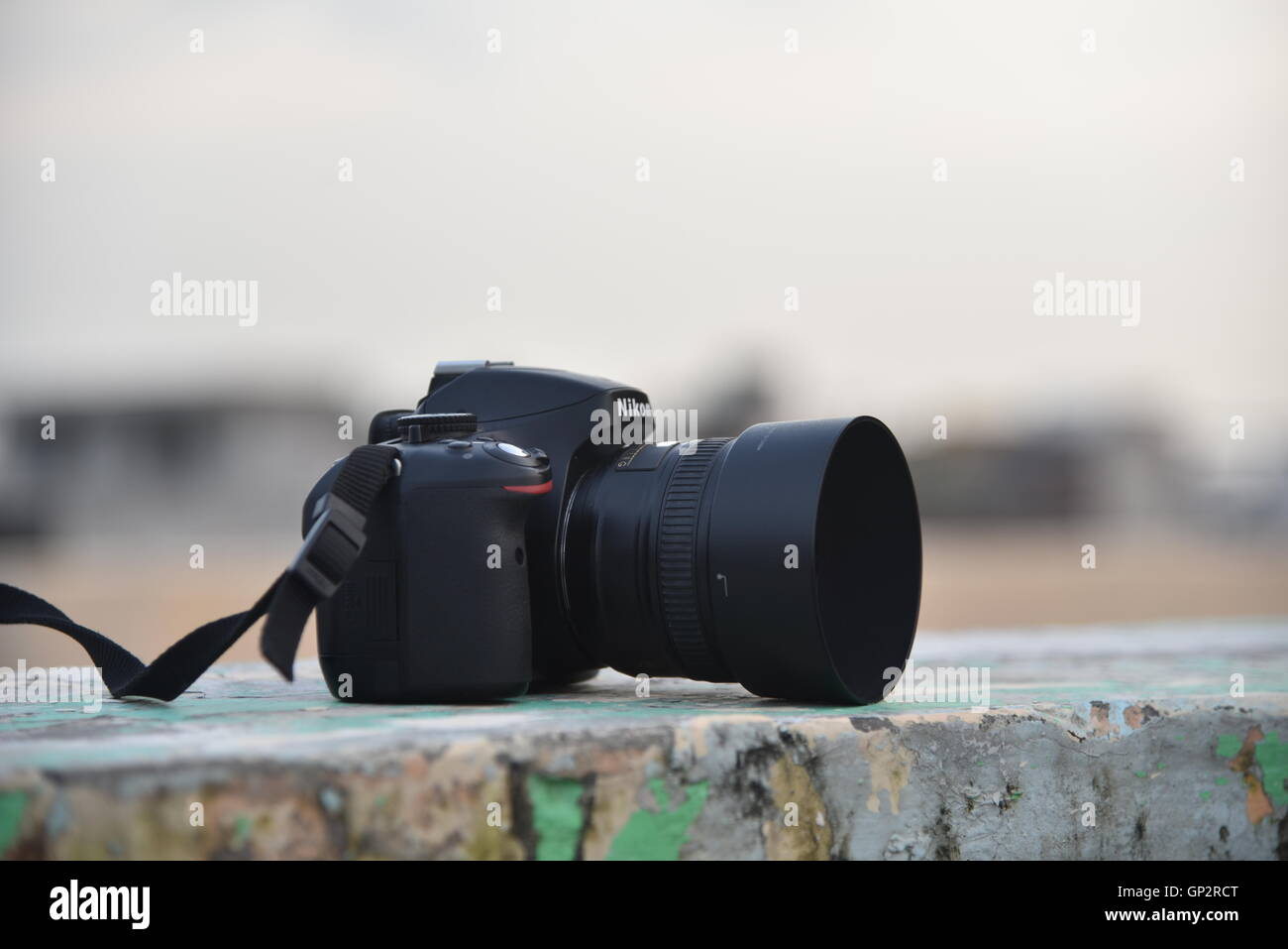 My slr camera Stock Photo