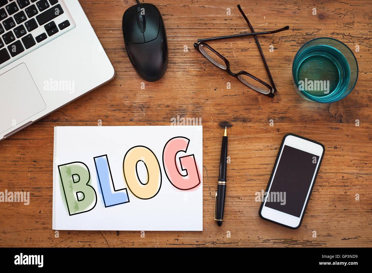 blog - Stock Image