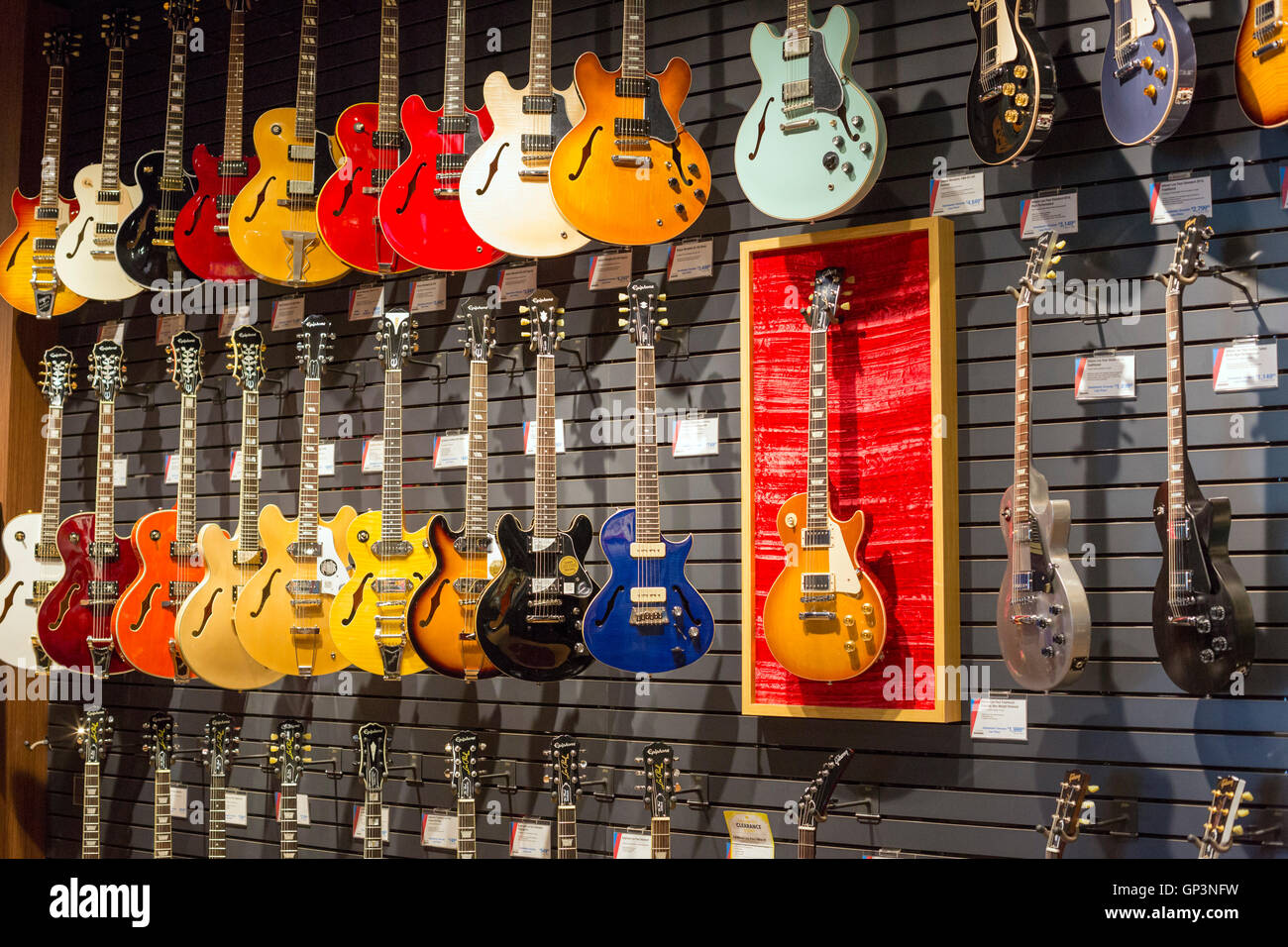 music store stock photos music store stock images alamy. Black Bedroom Furniture Sets. Home Design Ideas