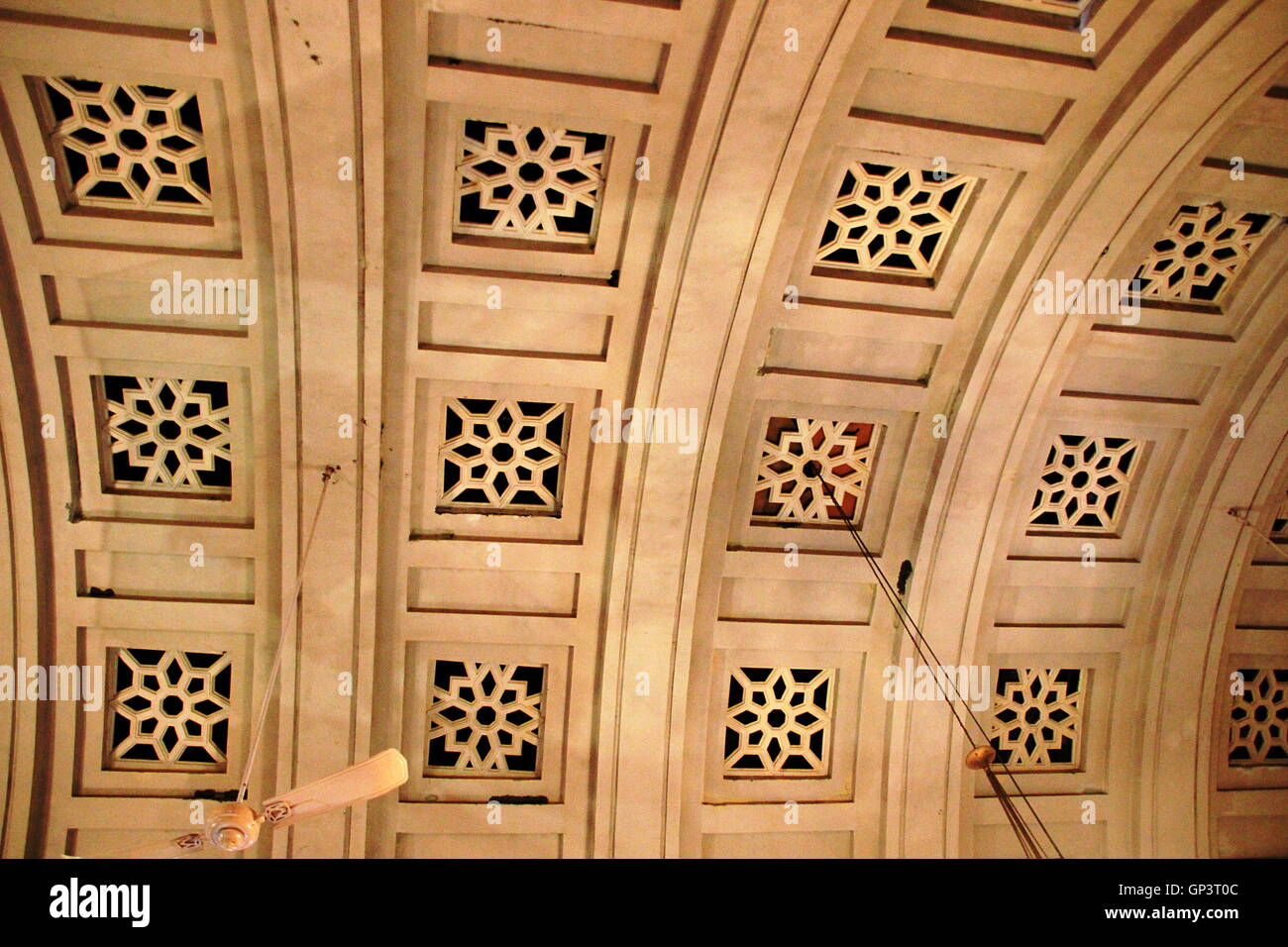 View Of Curved Ceiling Design In Stone At Umaid Bhavan