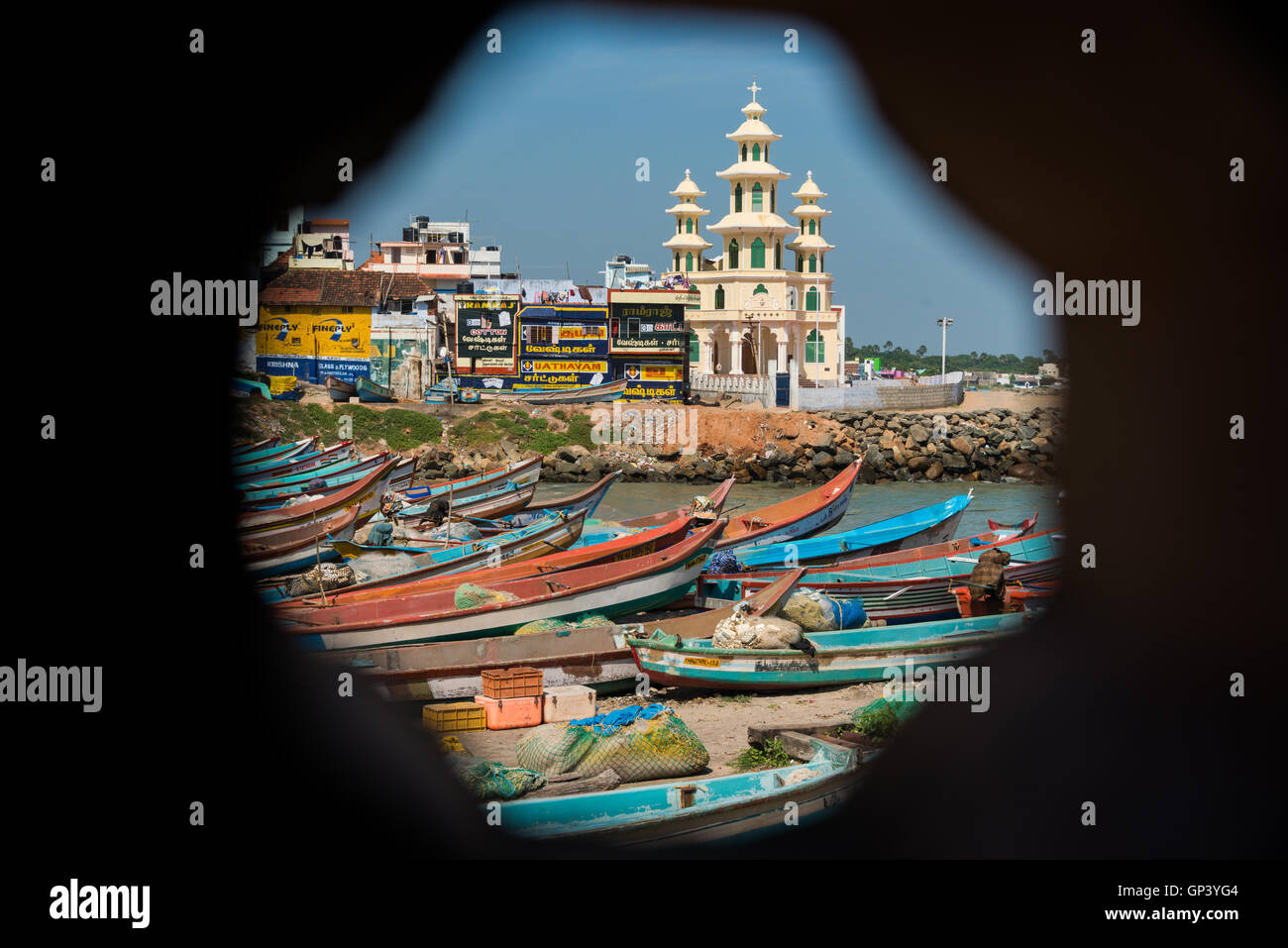 Kanyakumari, Tamil Nadu, India - Stock Image