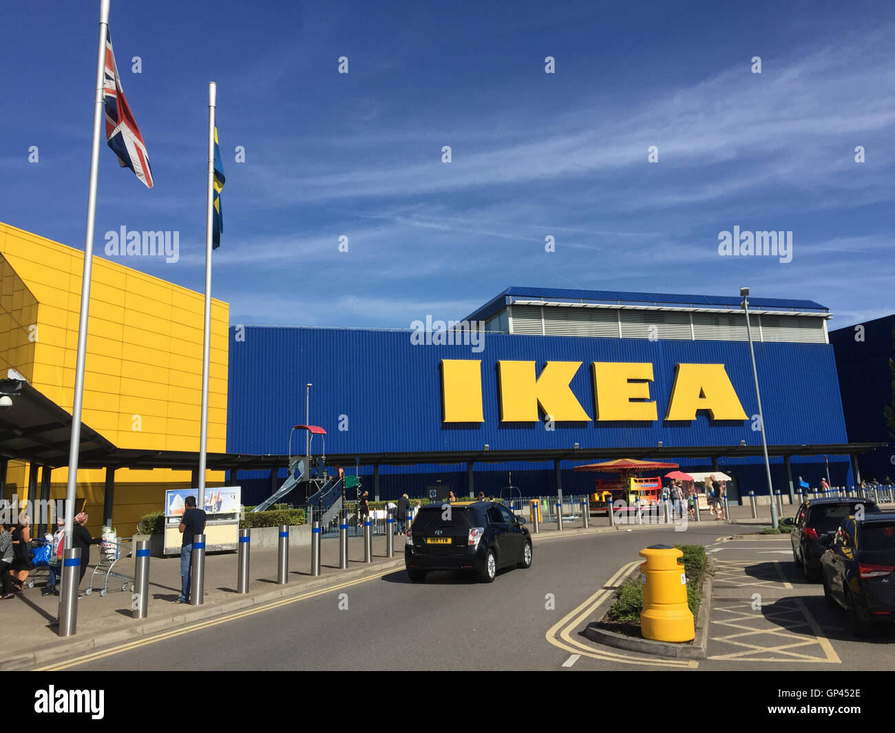 IKEA store in Theale near Reading, Berkshire. Photo Tony Gale - Stock Image