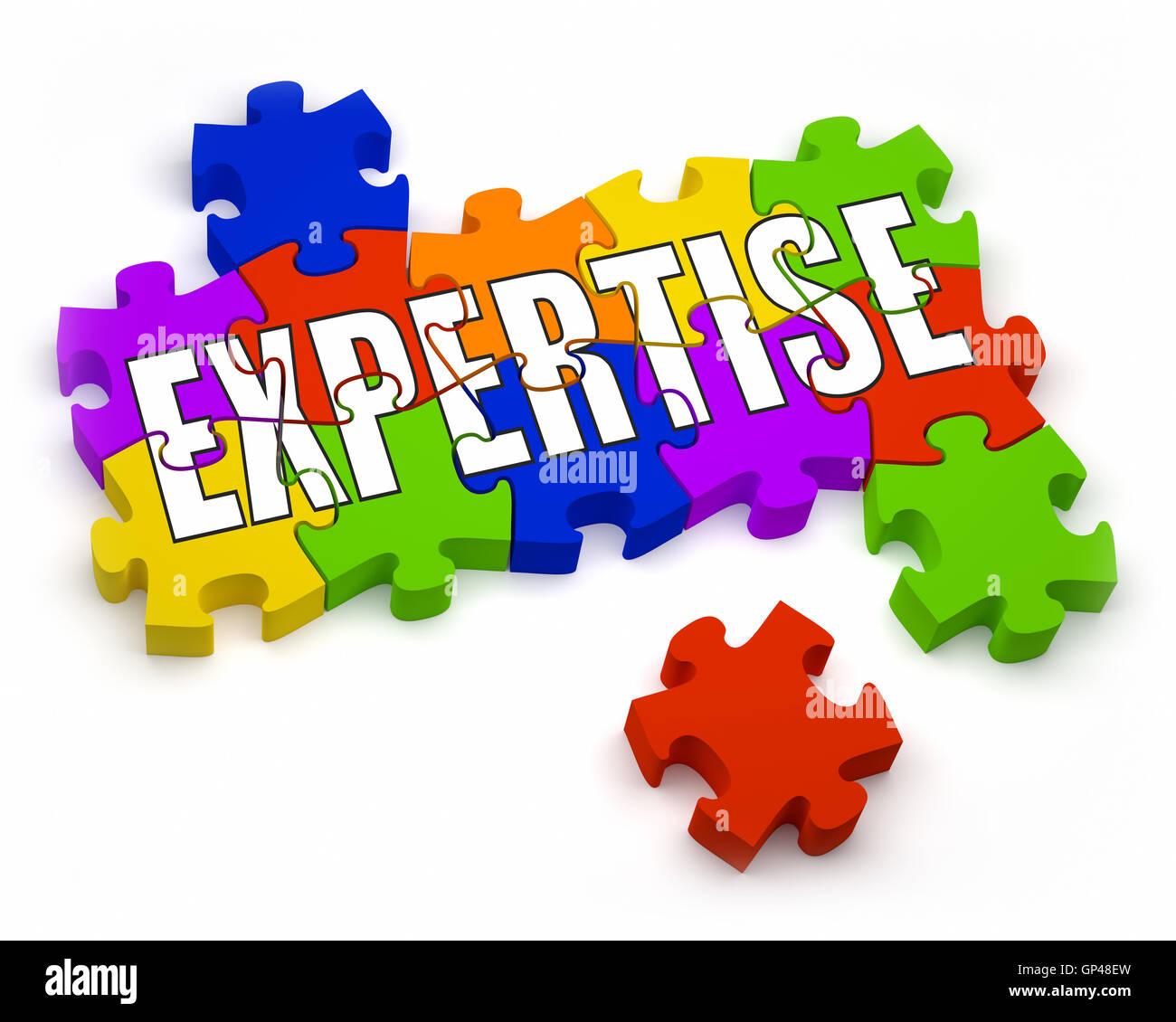 Expertise - Stock Image