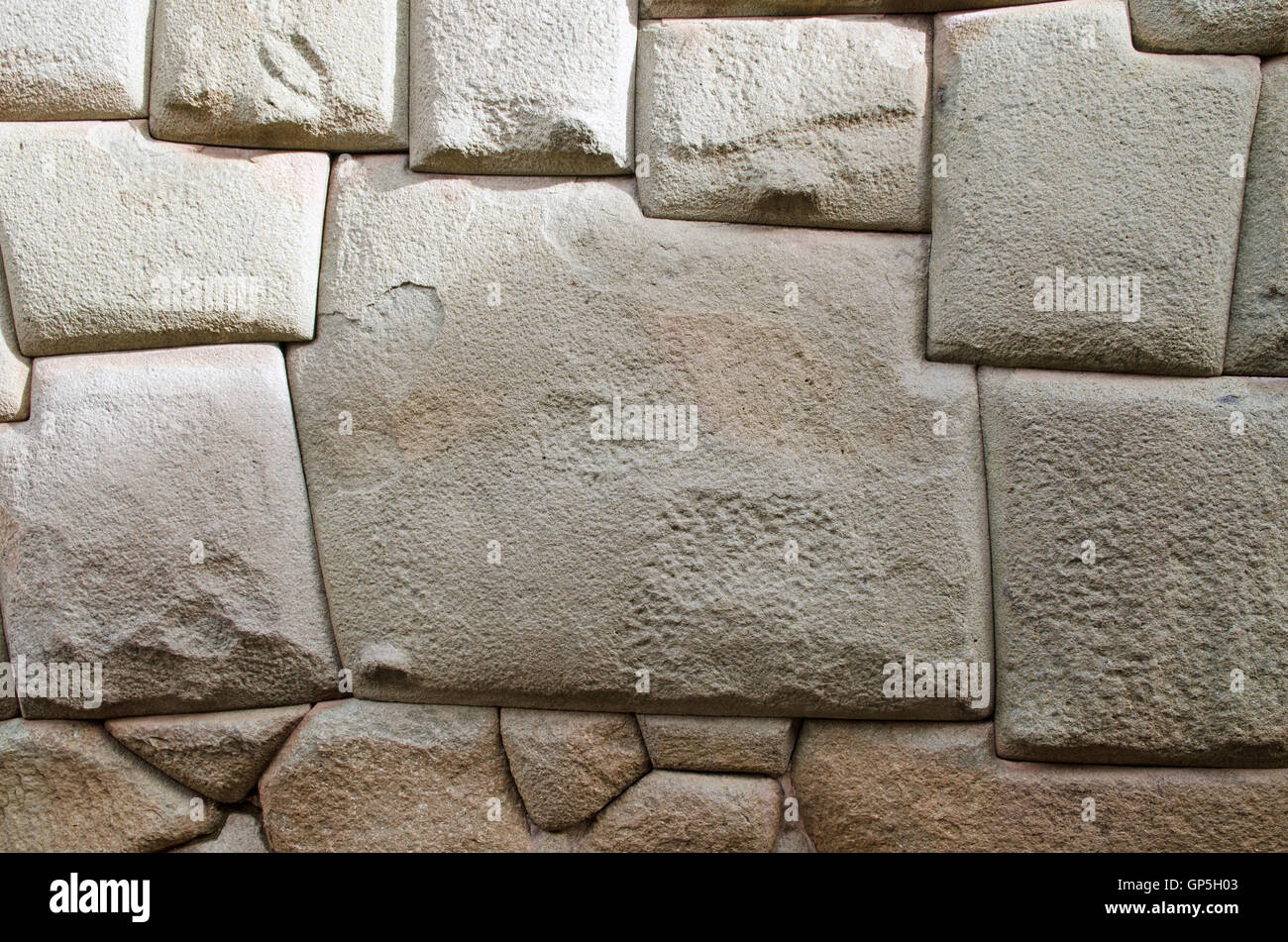 the famous 12 sided inca stone in cusco peru stock photo 116907731