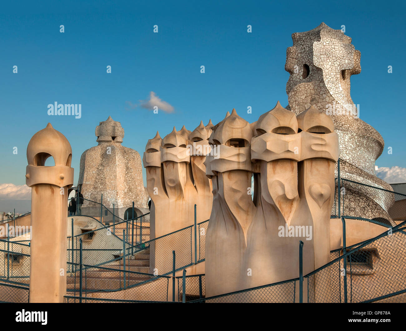 Gaudi Chimney Stock Photos Gaudi Chimney Stock Images Alamy