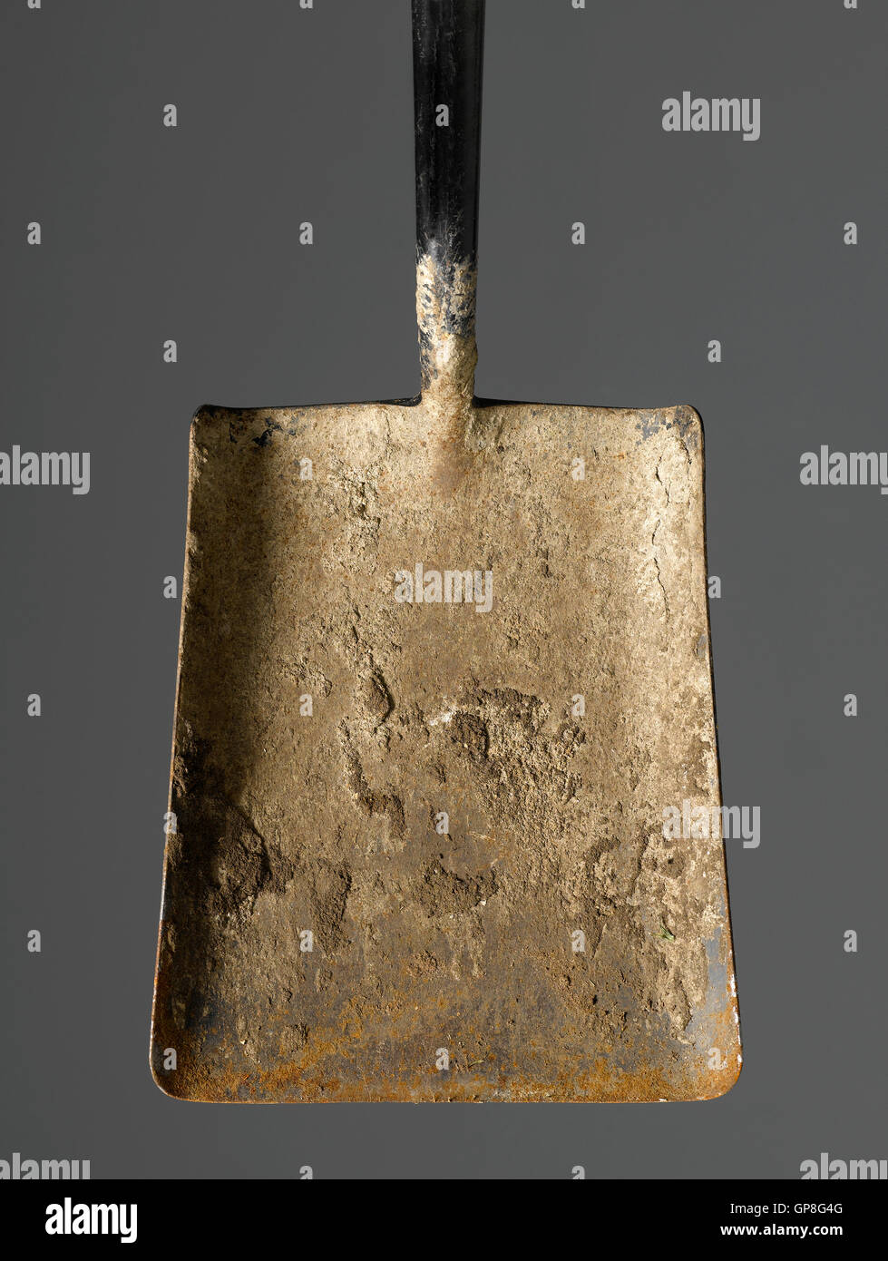 Spade isolated - Stock Image