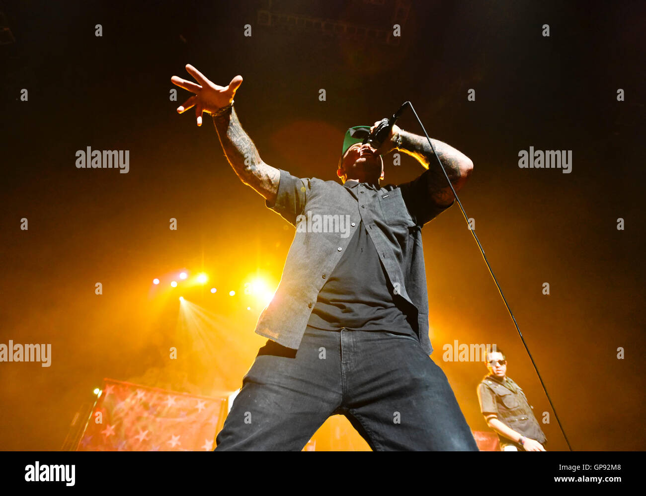 Las Vegas, Nevada, USA. 2nd September, 2016. Seth Brooks Binzer, better known by his stage name Shifty Shellshock Stock Photo
