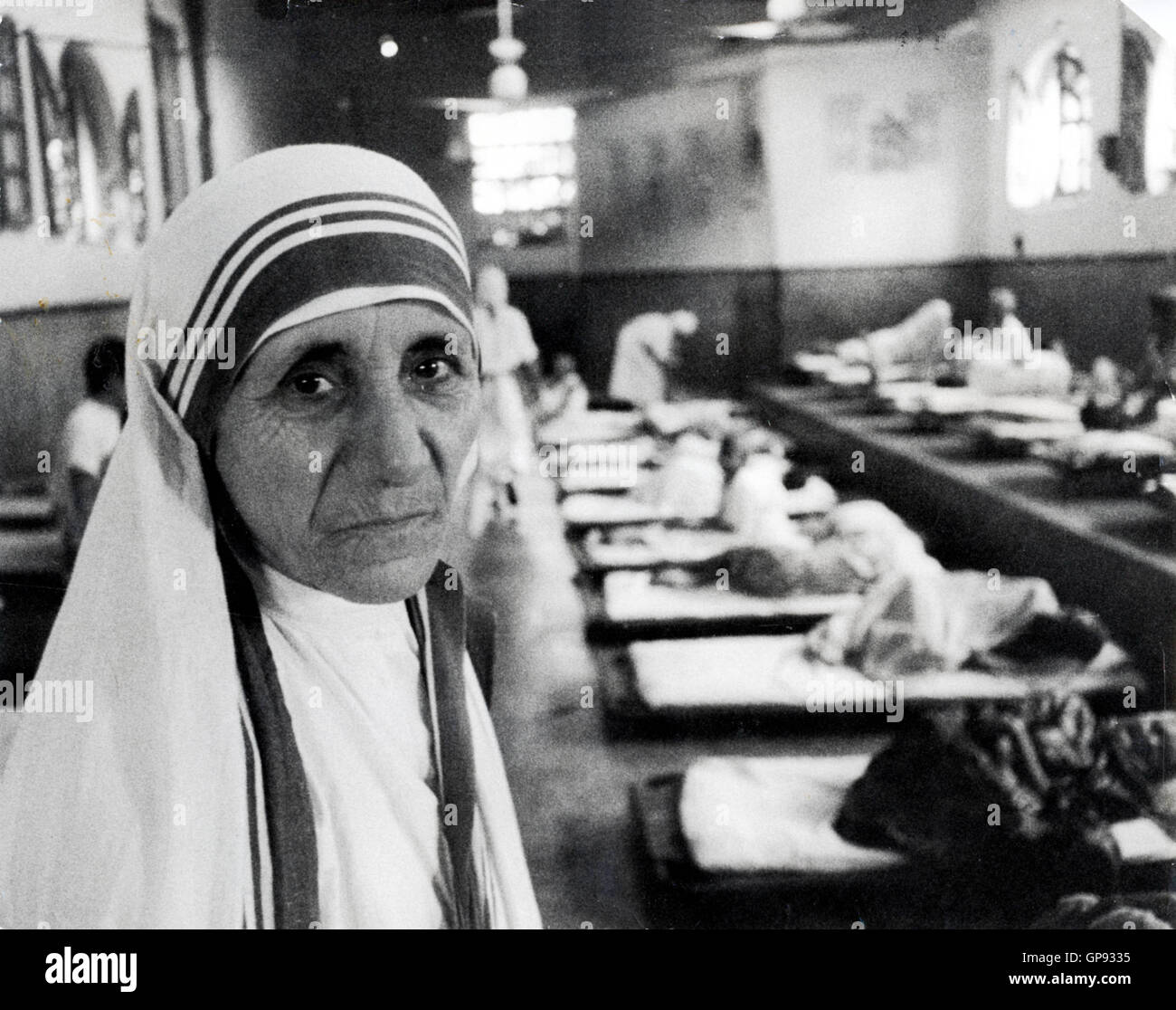 Dec 18, 2015 - File - Mother Teresa to Be Sainted After 2nd Miracle Declares Vatican. MOTHER TERESA, who dedicated - Stock Image