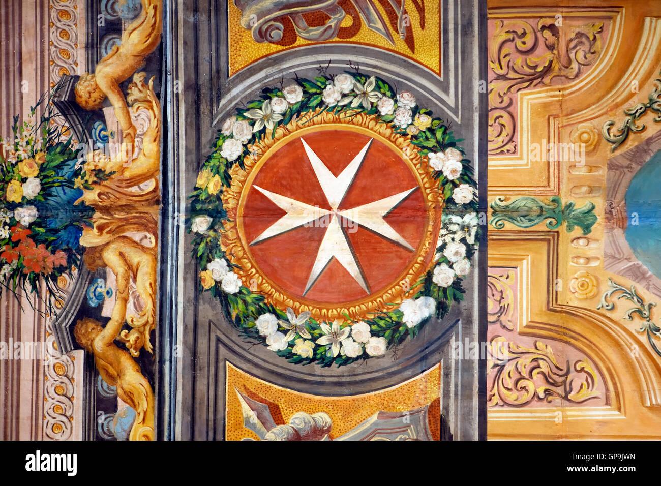 Grand Master's Palace in Valletta, Malta - Stock Image