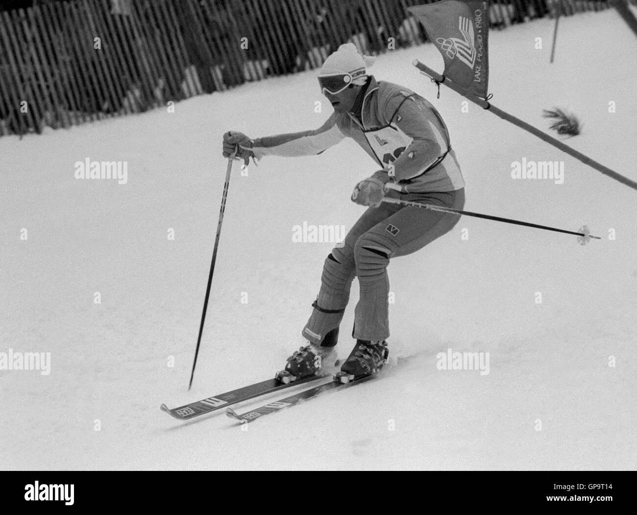 INGEMAR STENMARK Swedish alpine skier - Stock Image