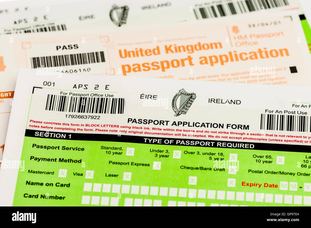 Passport application forms for both republic of ireland eire and passport application forms for both republic of ireland eire and united kingdom uk falaconquin