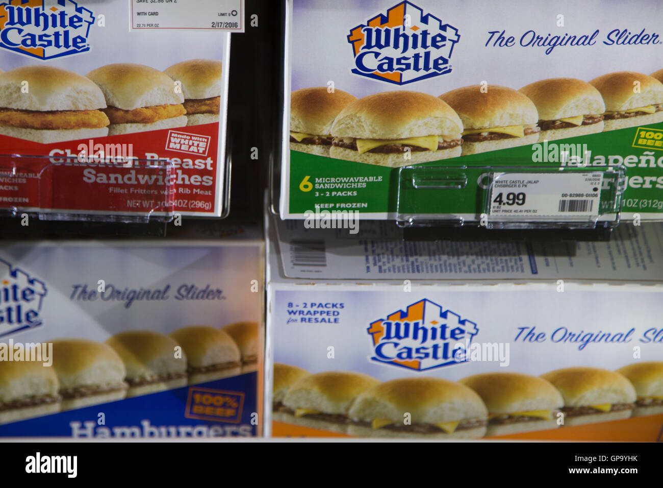 how to cook white castle frozen sliders