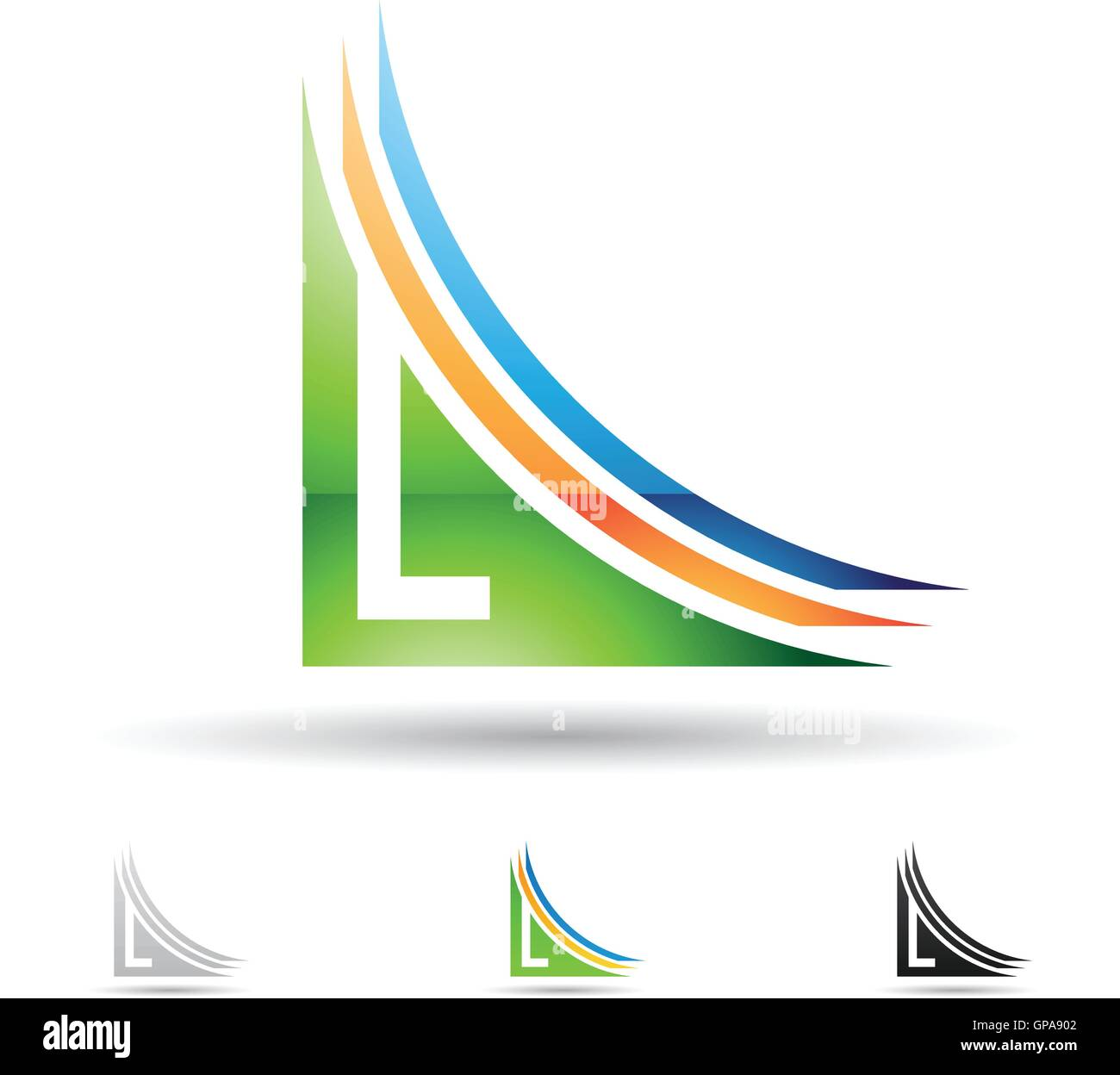 Letter L Logo Stock Photos & Letter L Logo Stock Images - Alamy