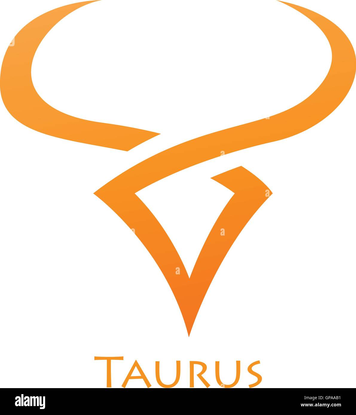 Symbol Taurus Zodiac Sign Vector Stock Photos Symbol Taurus Zodiac