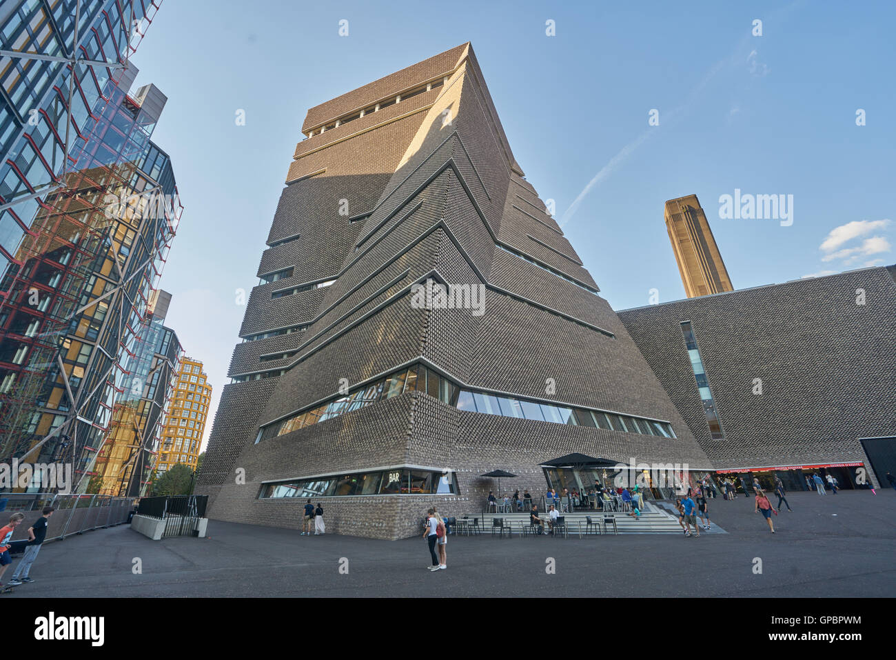 The Switch House, Tate Modern, London - Stock Image