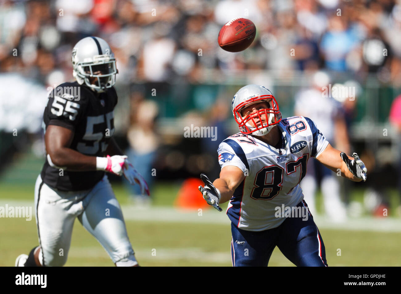 Nfl Football Player Rob Gronkowski Stock Photos   Nfl Football ... 42d11273d34