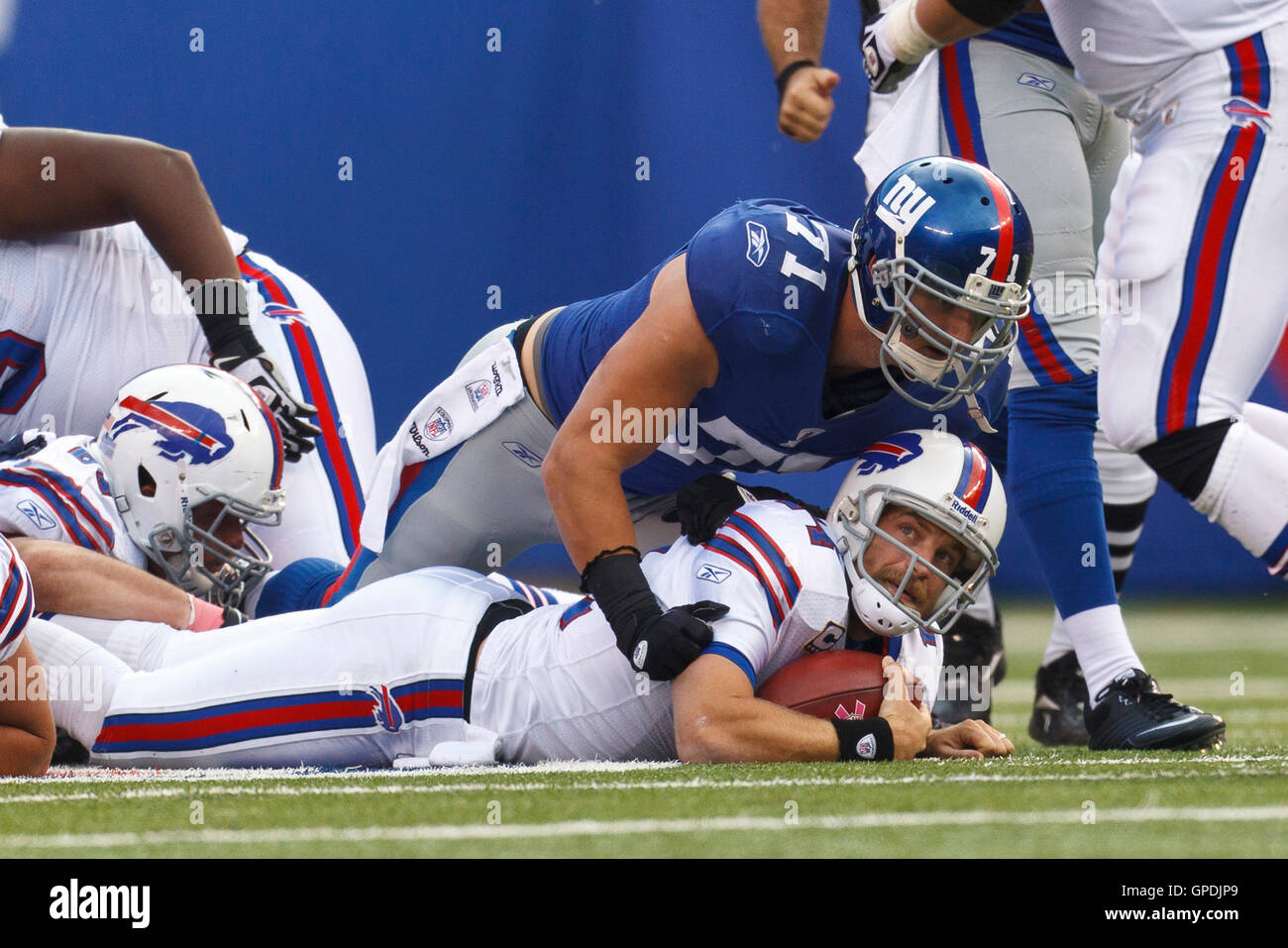 8bc64cb7f Buffalo Bills Defensive End Ryan Stock Photos   Buffalo Bills ...