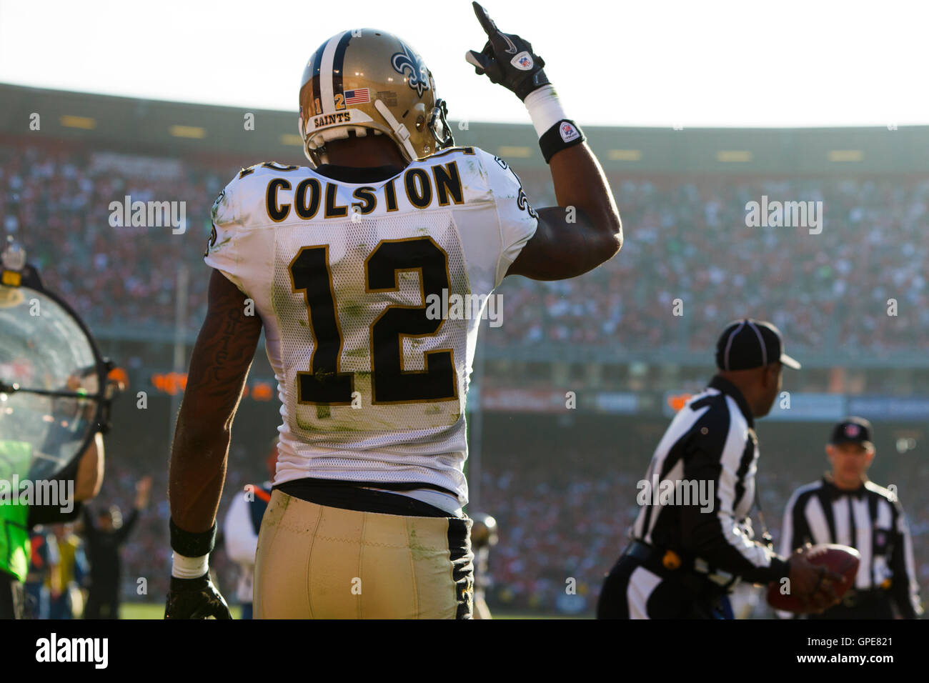 newest d7a85 da1c8 Marques Colston Stock Photos & Marques Colston Stock Images ...