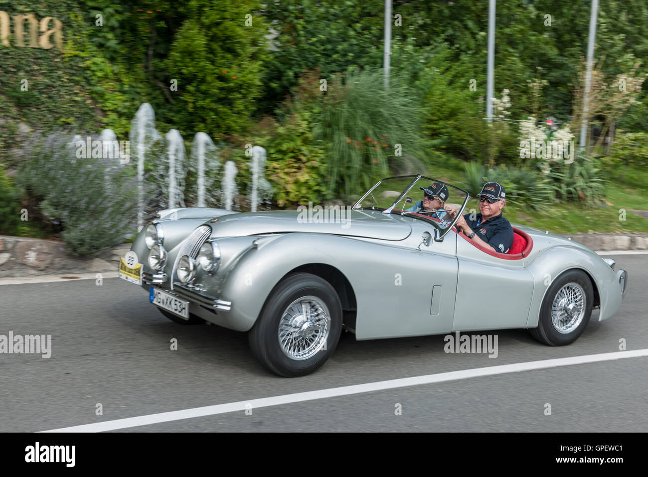 jaguar xk 120 stock photos jaguar xk 120 stock images alamy. Black Bedroom Furniture Sets. Home Design Ideas