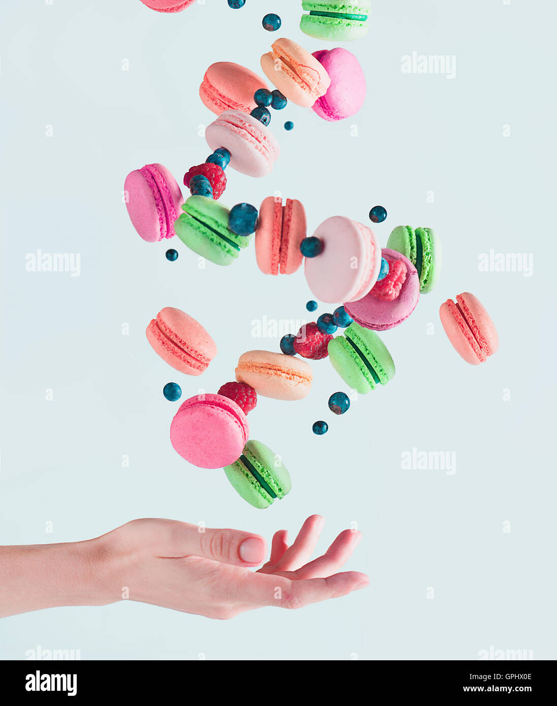 Sweets for a stage magician - Stock Image