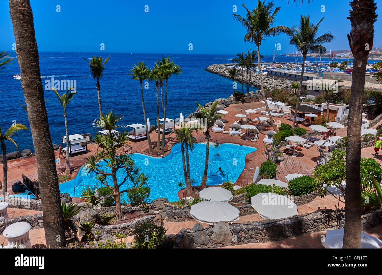 hotel jardin tropical costa adeje tenerife stock photo 117180780 alamy. Black Bedroom Furniture Sets. Home Design Ideas