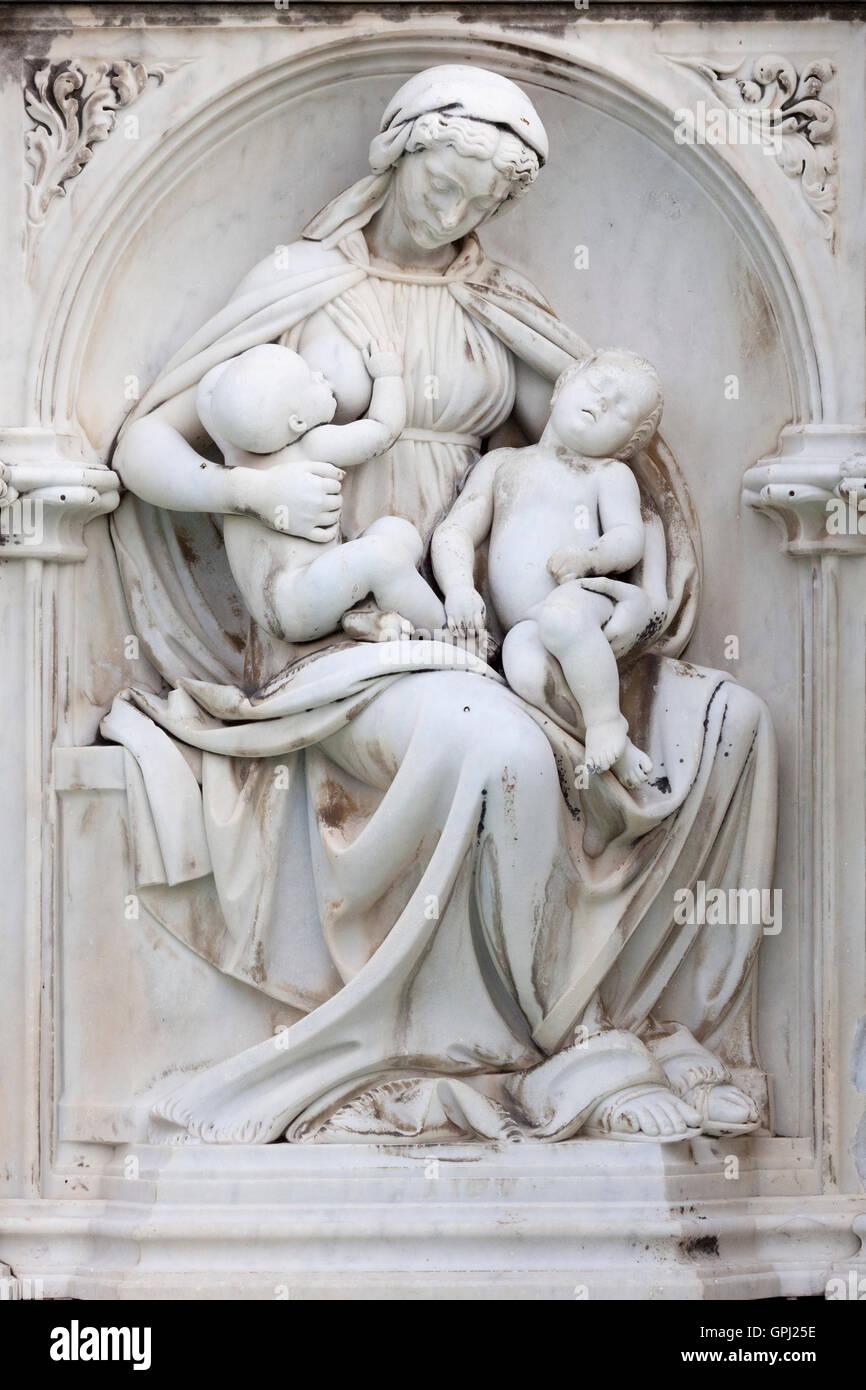 Ancient Gaia Statue gaia statue stock photos & gaia statue stock images - alamy