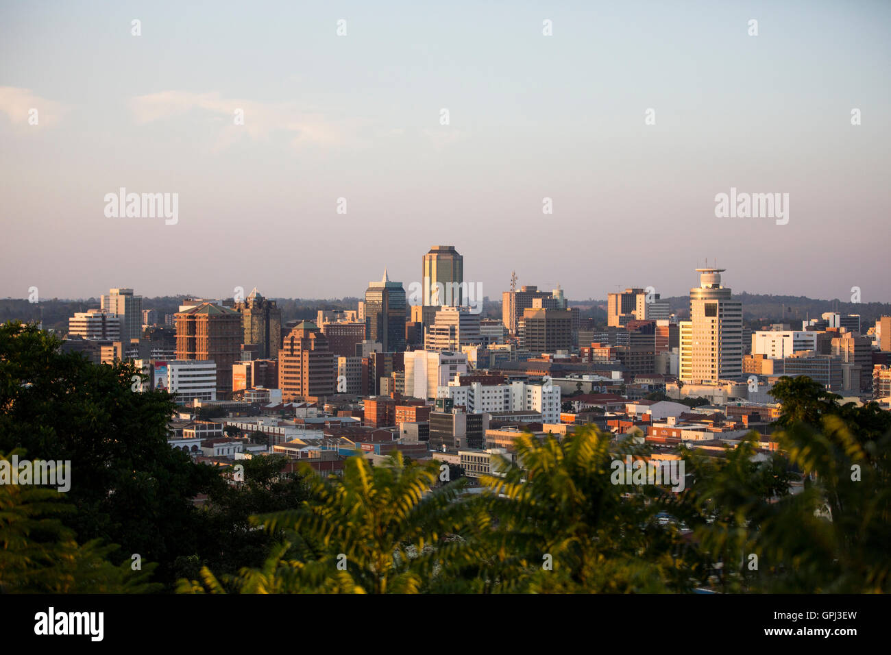 The heart of Zimbabwe - the capital of Harare 11