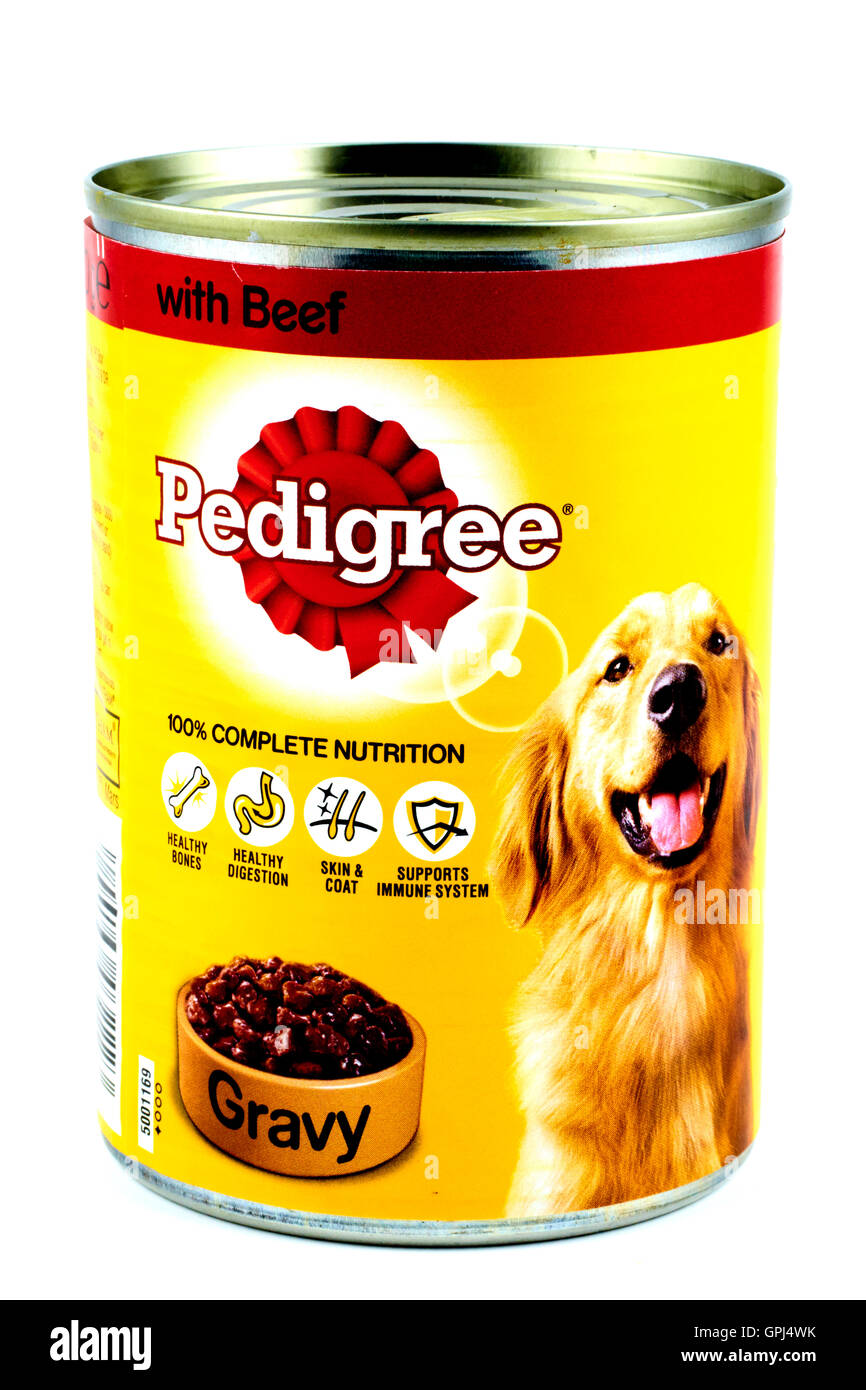 Dog Food Tin Cut Out Stock Images Pictures Alamy