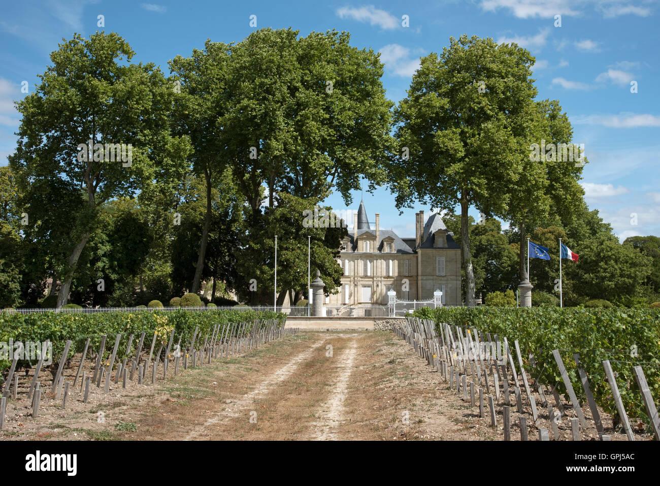 Château Pichon Lalande Stock Photos & Château Pichon Lalande