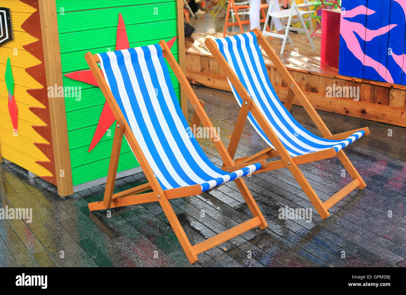 Summer In The City - Stock Image