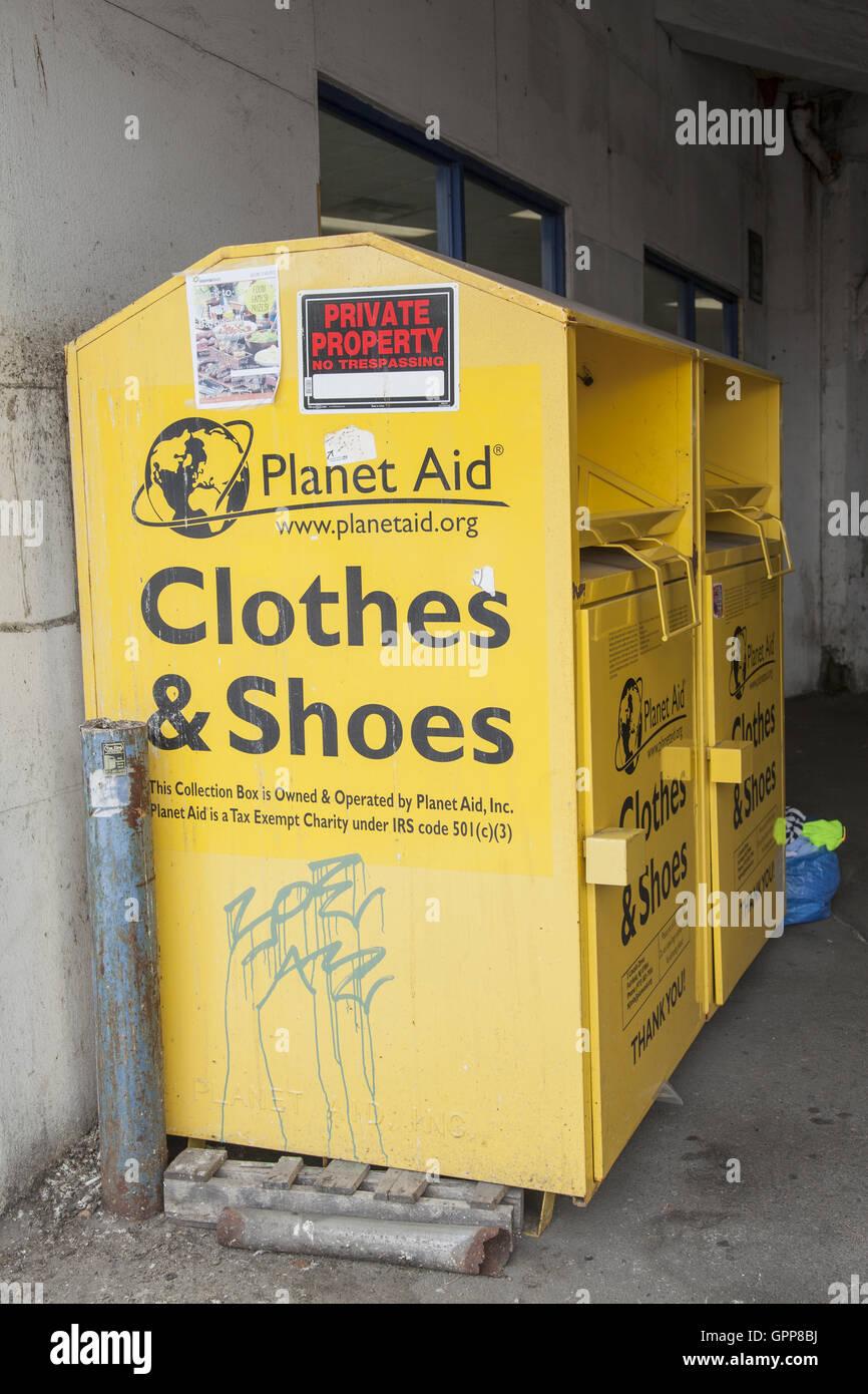 planet aid drop box