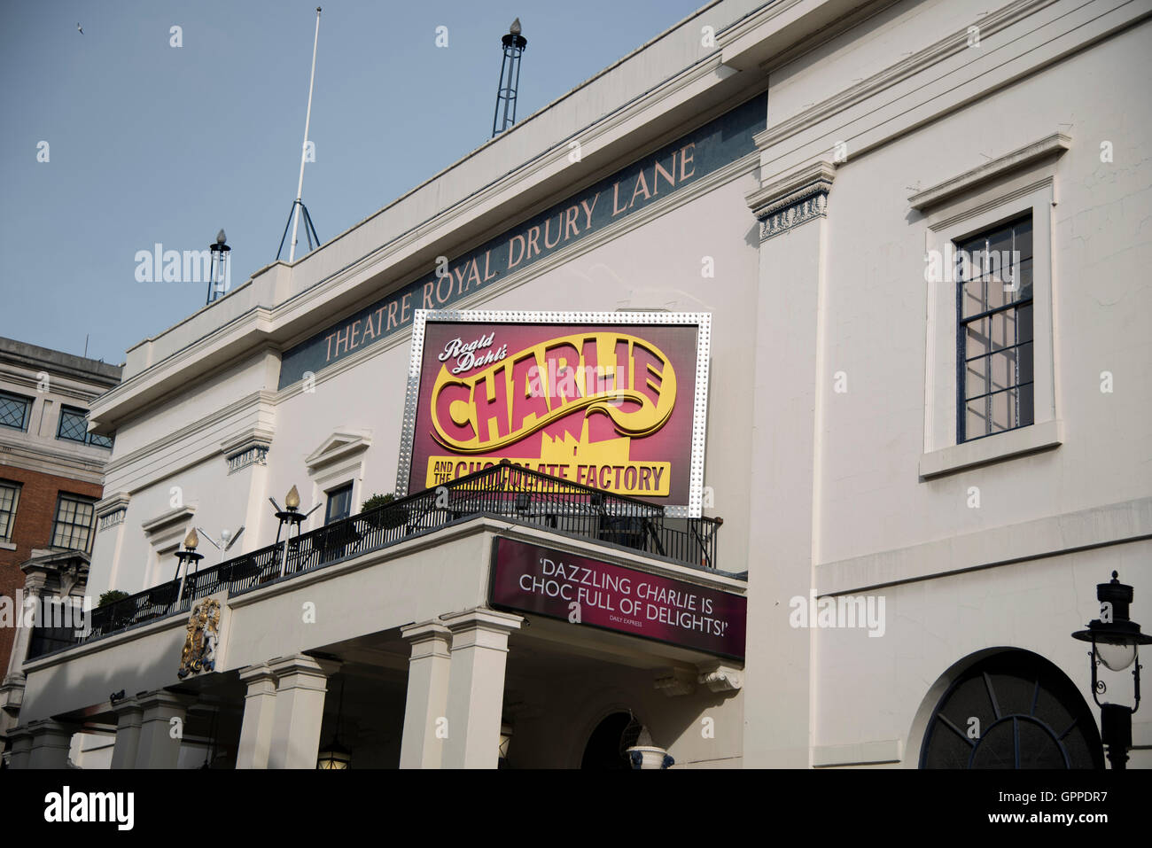 Theatre Royal Drury Lane Charlie and the  Chocolate Factory - Stock Image