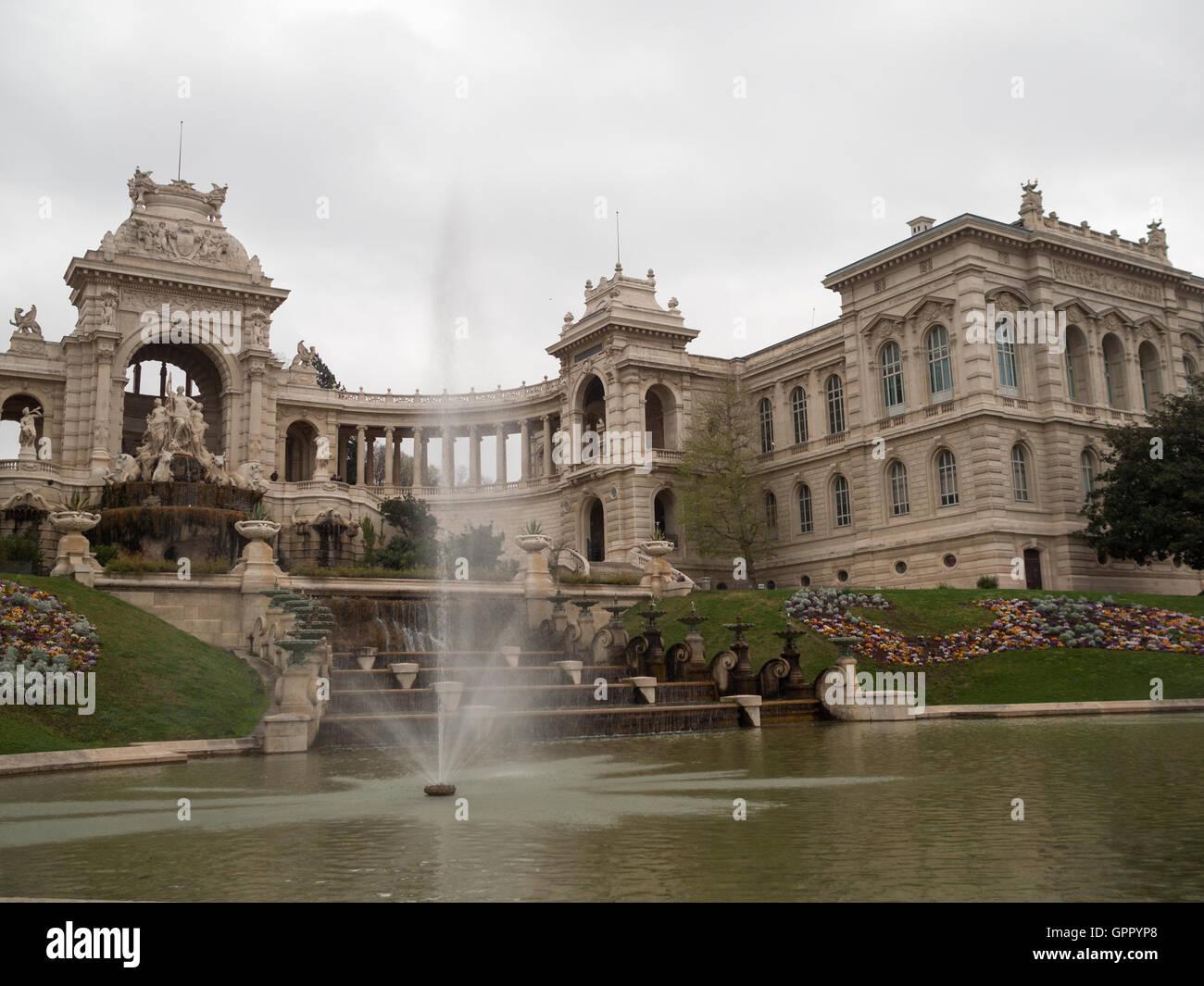 Musee des Beaux Arts Palais Longchamp Stock Photo