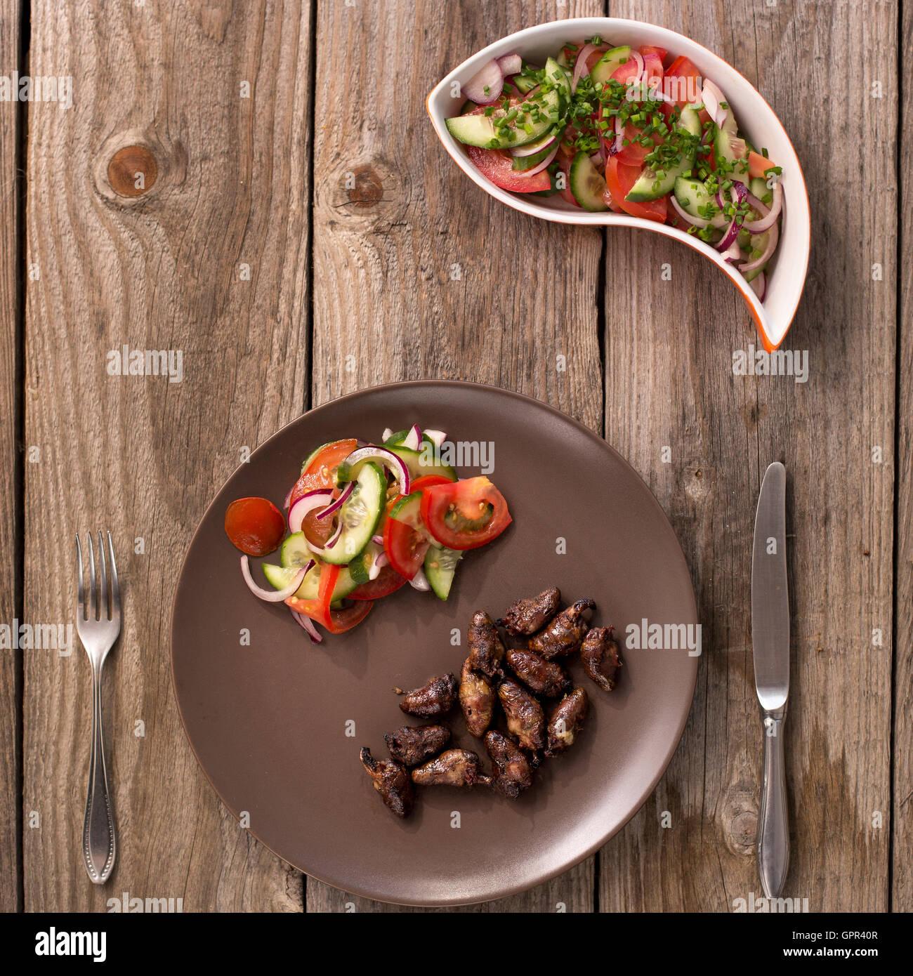 Churrasco De Curacao Traditional Brazilian Barbecue Chicken Stock Photo Alamy