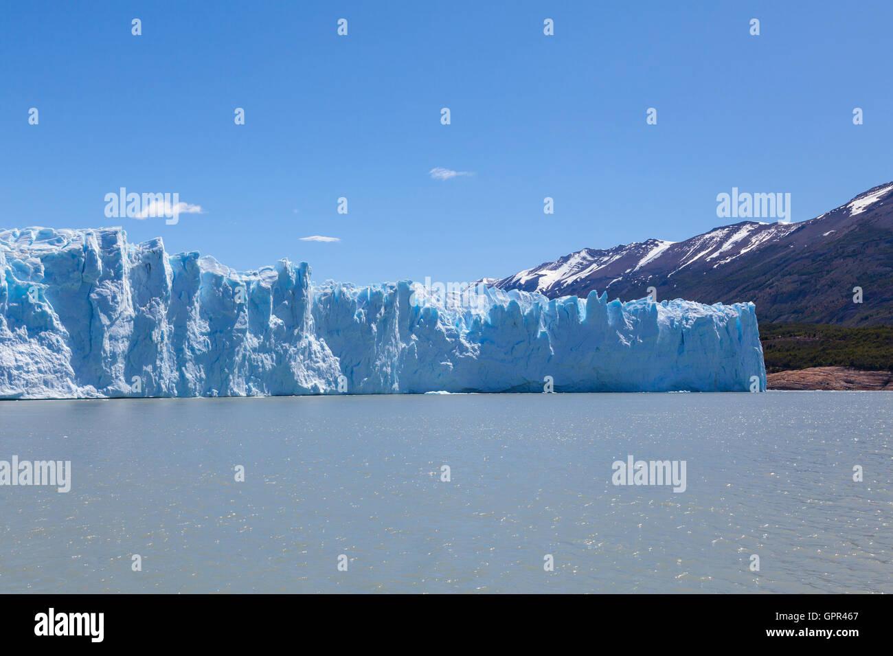 Perito Moreno Glacier, Argentina - Stock Image