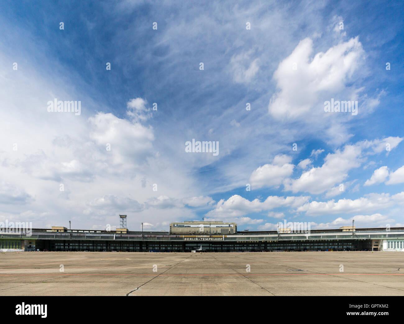 Tempelhof Airport - Stock Image