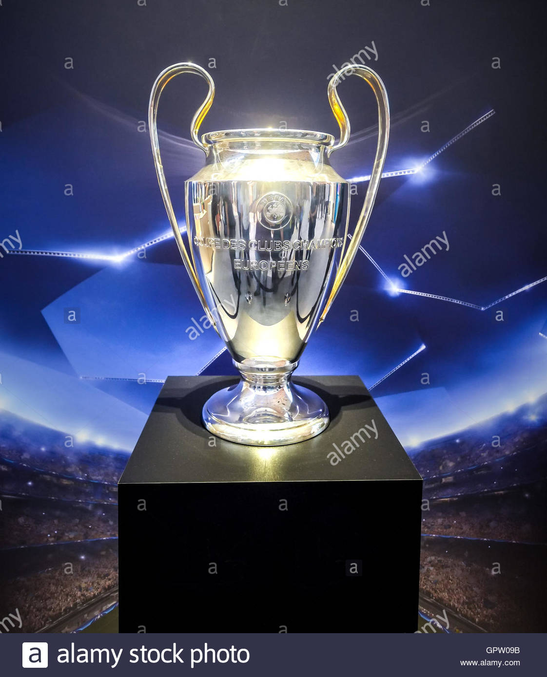 Champions League: Champions League Trophy Stock Photos & Champions League