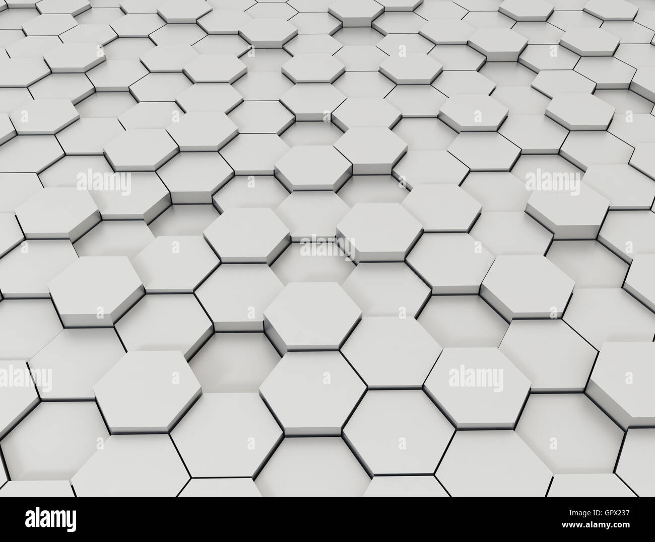 hexagon pattern 3d background stock photo 117357051 alamy